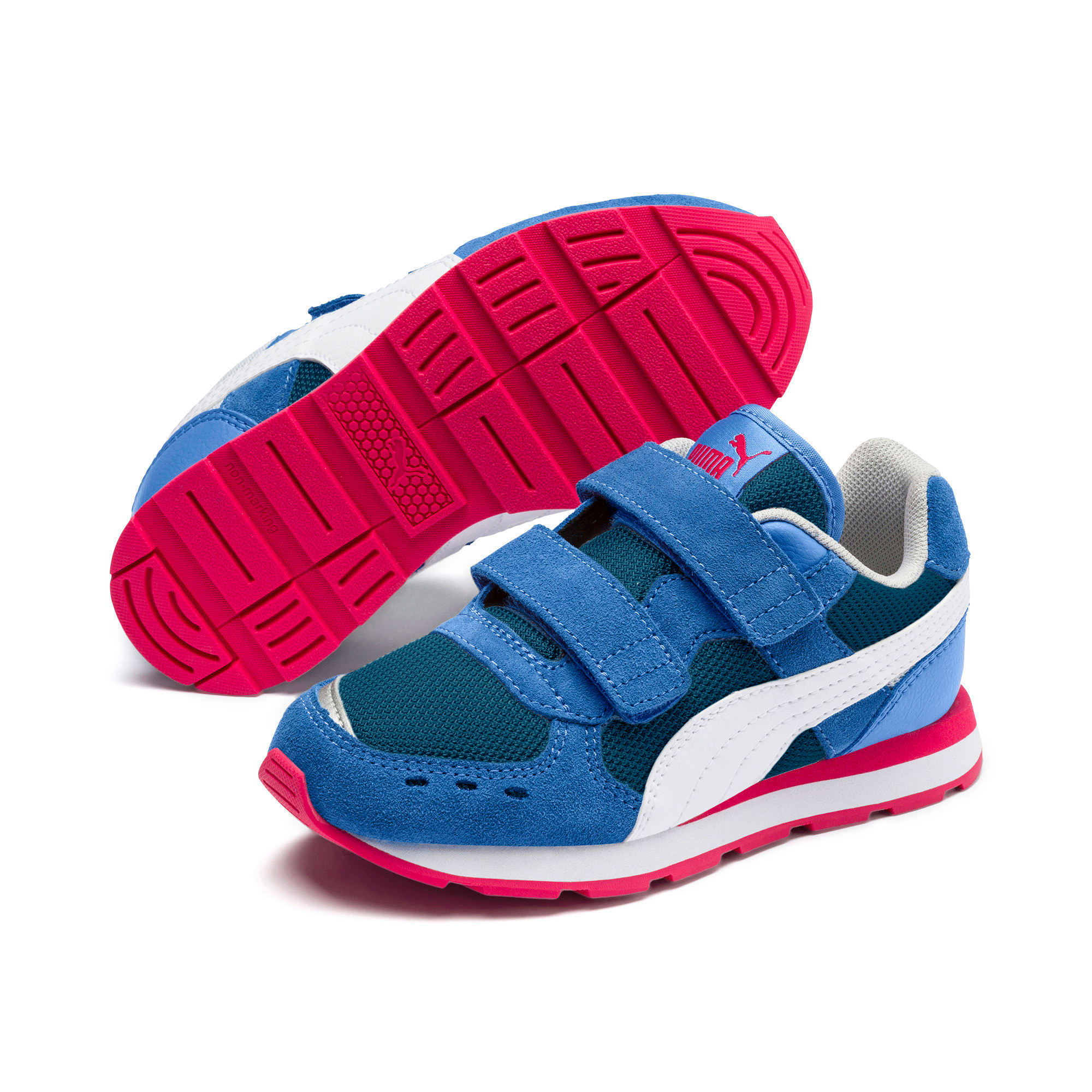 Thumbnail 5 of Vista Little Kids' Shoes, Ultramarine-Puma White, medium