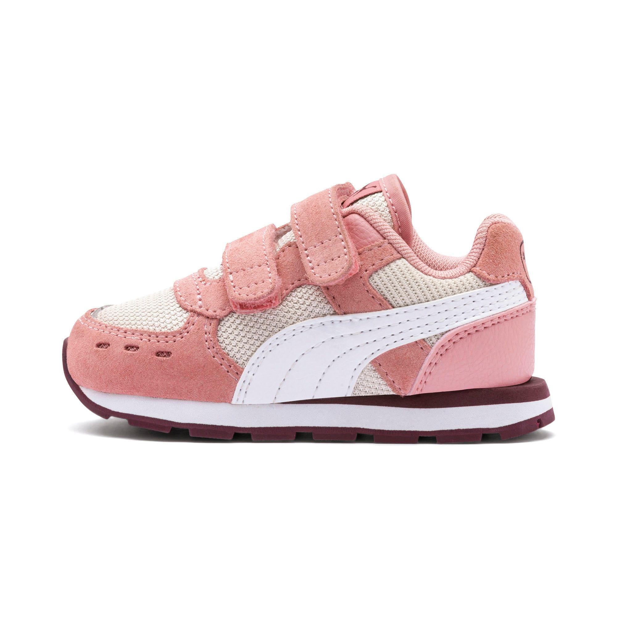 Thumbnail 1 of Vista V Babies Sneaker, Bridal Rose-Puma White, medium