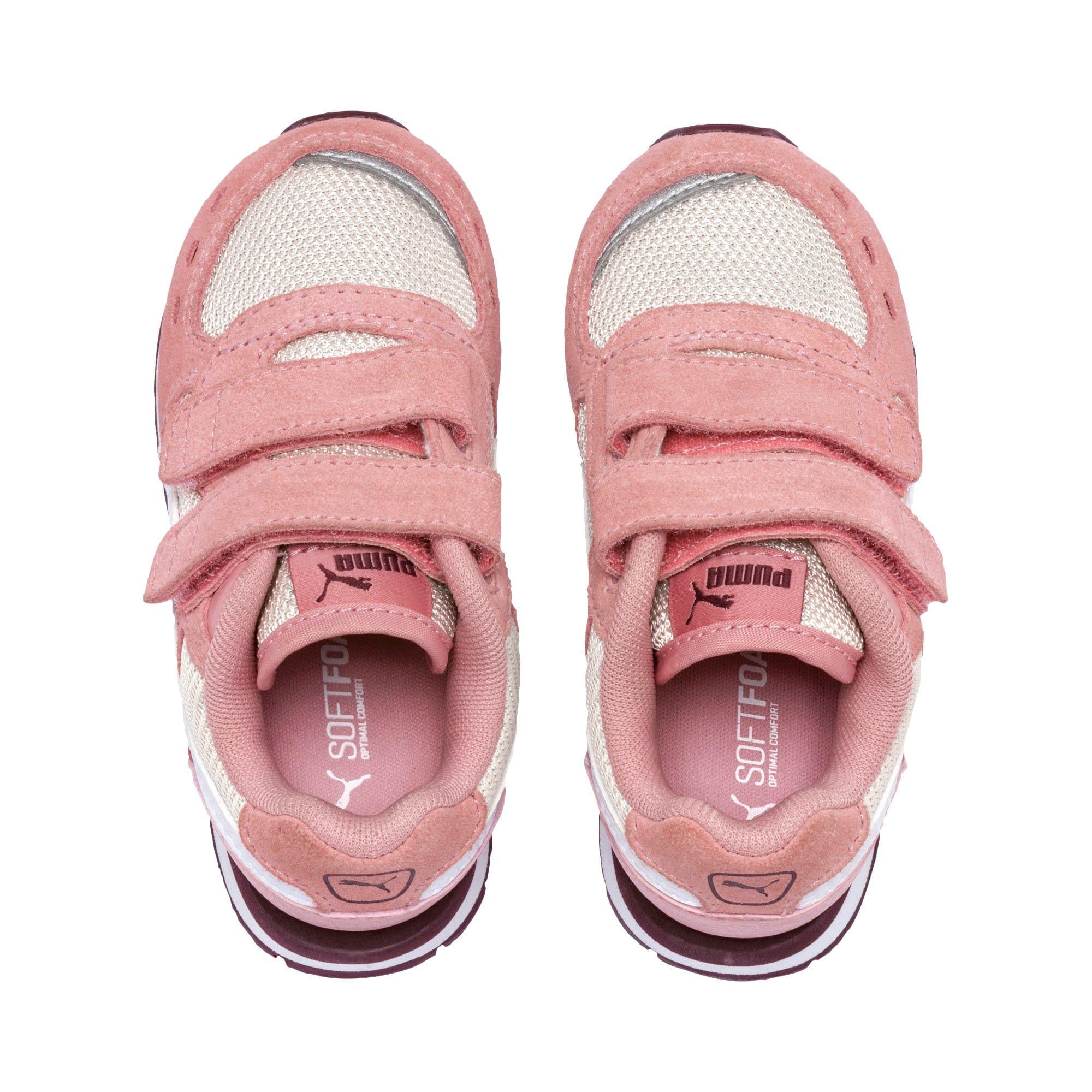 Thumbnail 6 of Vista V Babies Sneaker, Bridal Rose-Puma White, medium