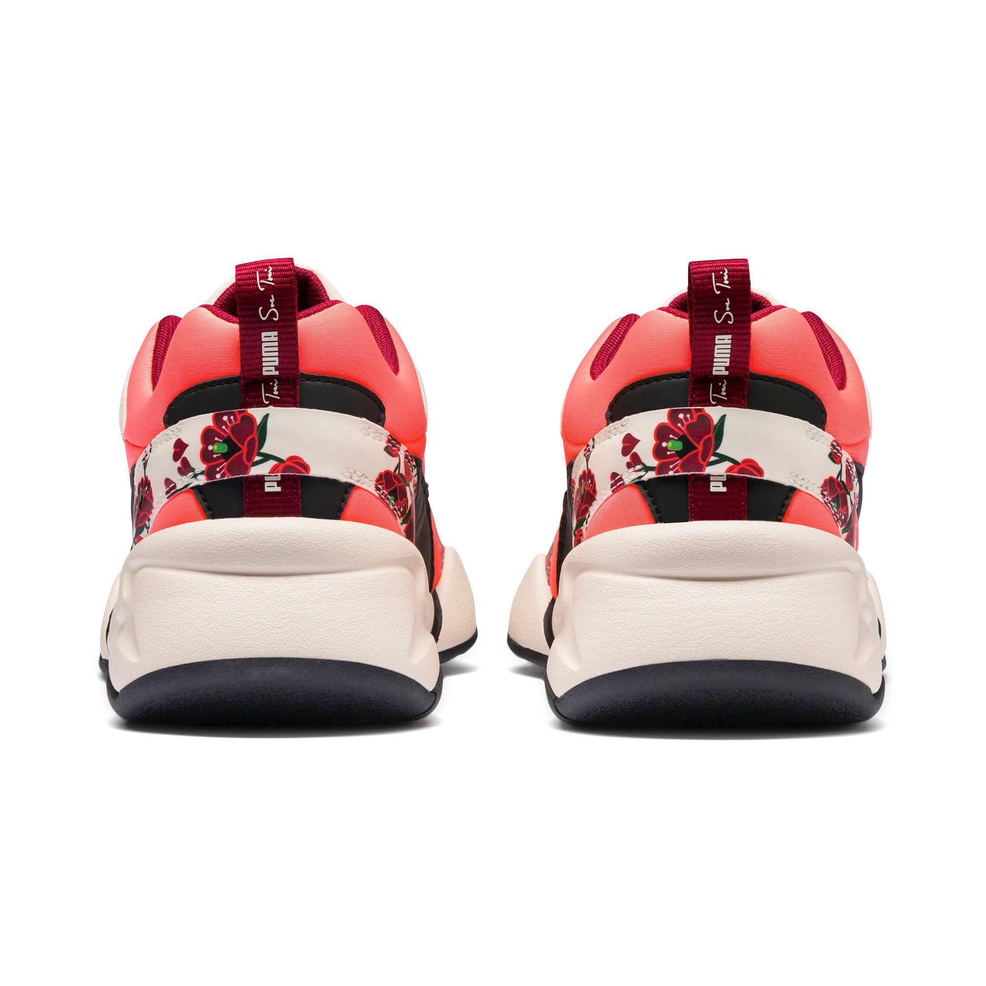 Thumbnail 4 of PUMA x SUE TSAI Nova Cherry Bombs sneakers voor dames, Powder Puff-Puma Black, medium