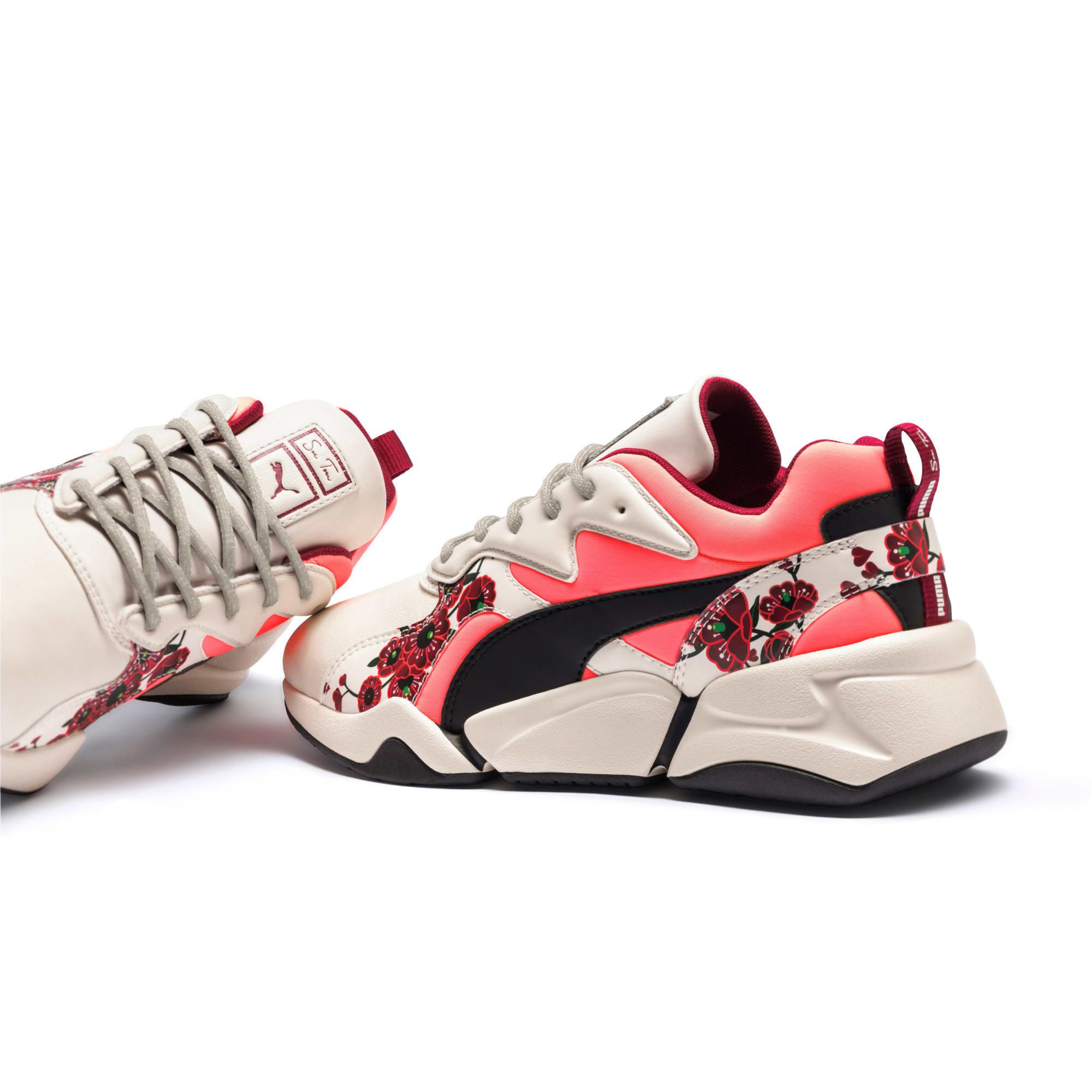Thumbnail 10 of PUMA x SUE TSAI Nova Cherry Bombs sneakers voor dames, Powder Puff-Puma Black, medium