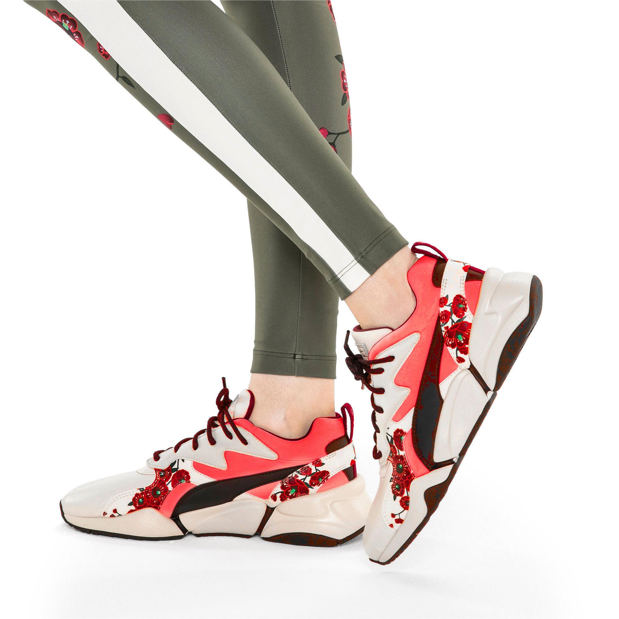 Thumbnail 2 of PUMA x SUE TSAI Nova Cherry Bombs sneakers voor dames, Powder Puff-Puma Black, medium