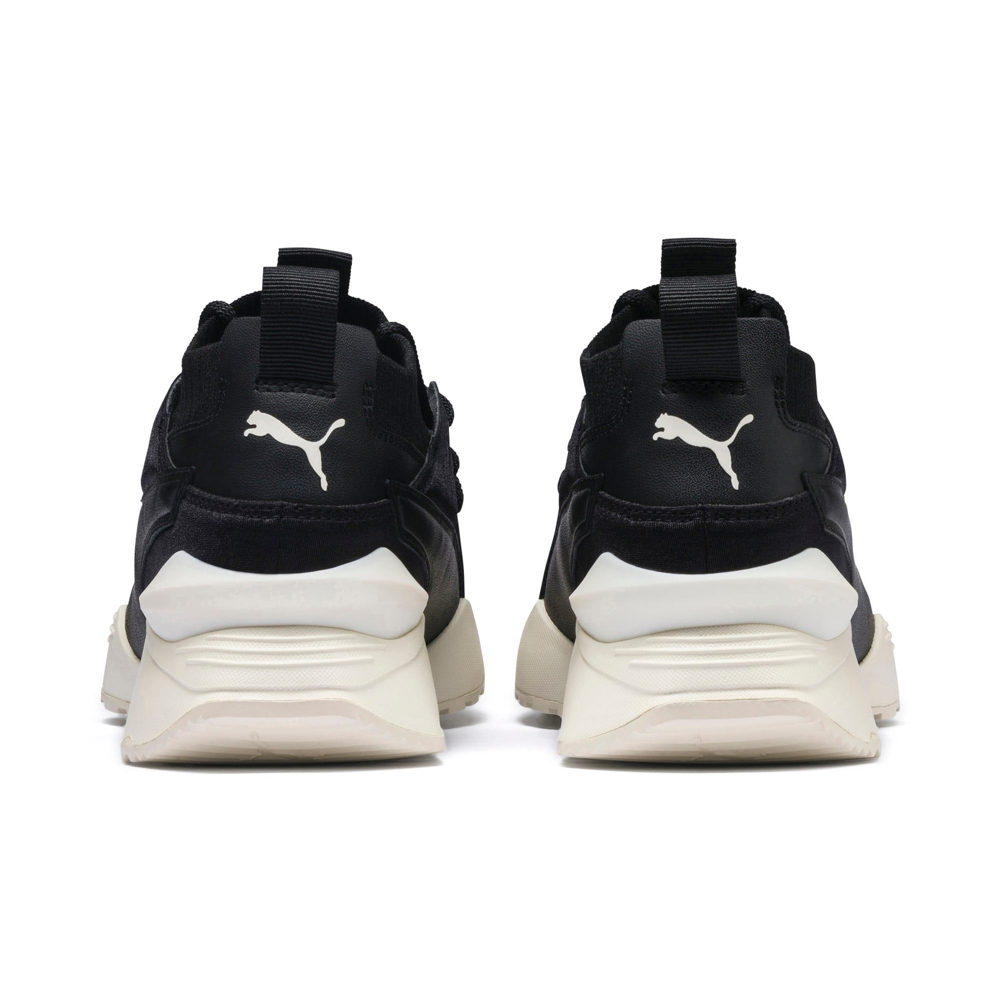 Thumbnail 4 of Muse Maia Knit Premium Damen Sneaker, Puma Black-Whisper White, medium