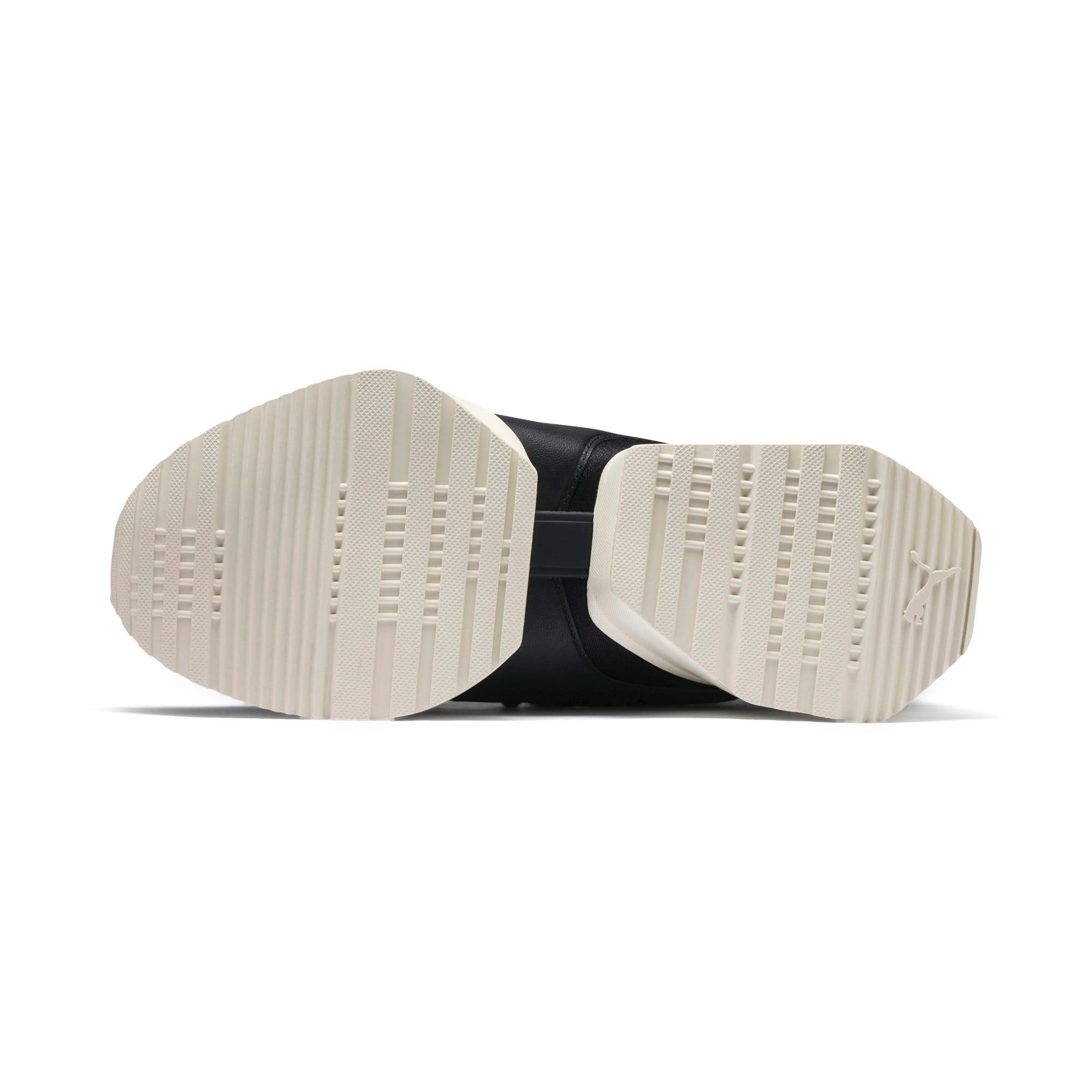 Thumbnail 5 of Muse Maia Knit Premium Damen Sneaker, Puma Black-Whisper White, medium
