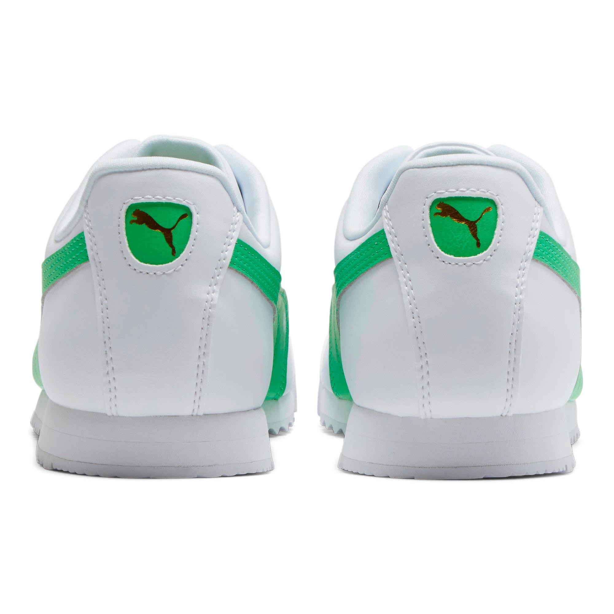 Miniatura 3 de Zapatos deportivos Roma Basic +, Puma White-Irish Green, mediano