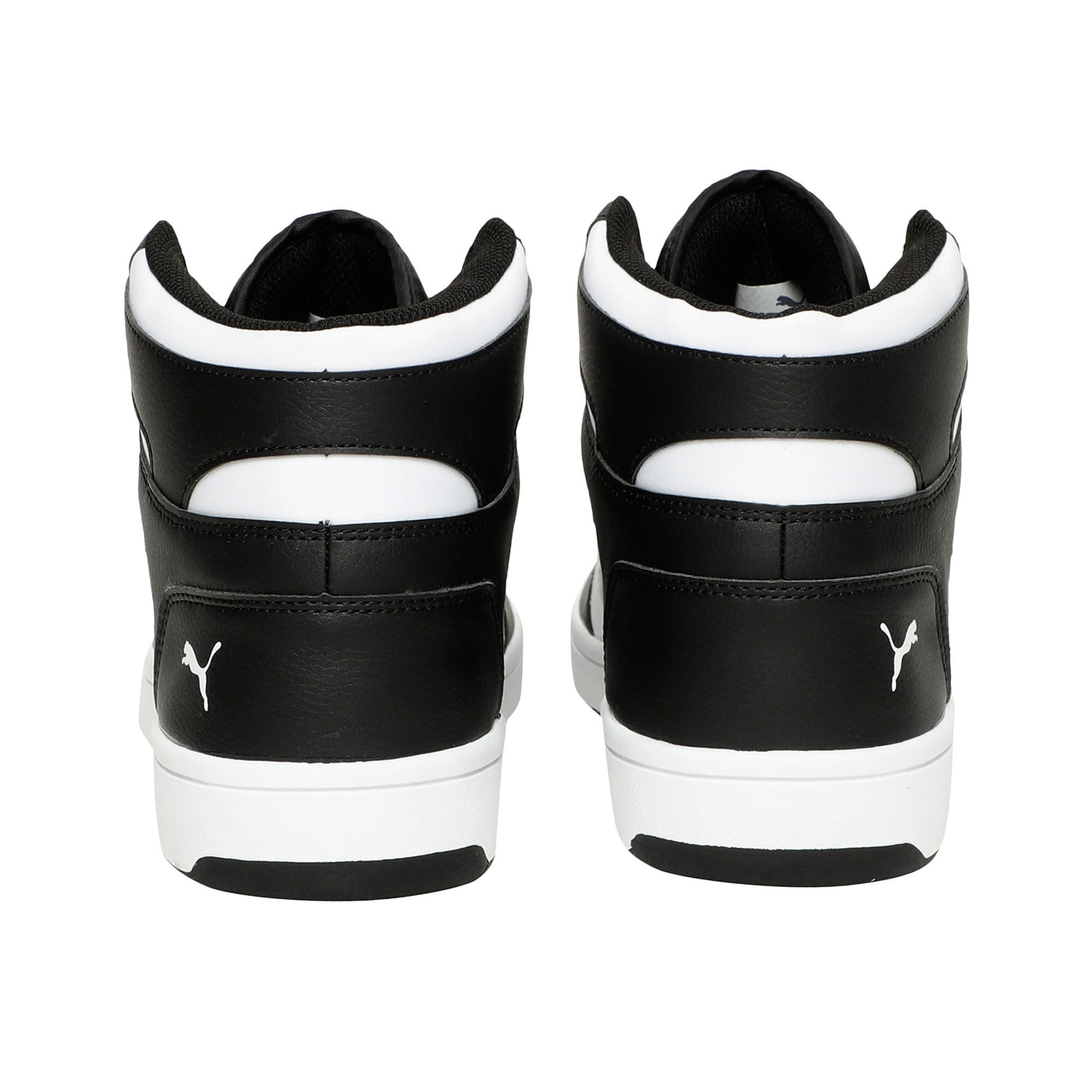 Thumbnail 3 of PUMA Rebound LayUp Sneakers, Puma Black-Puma White, medium