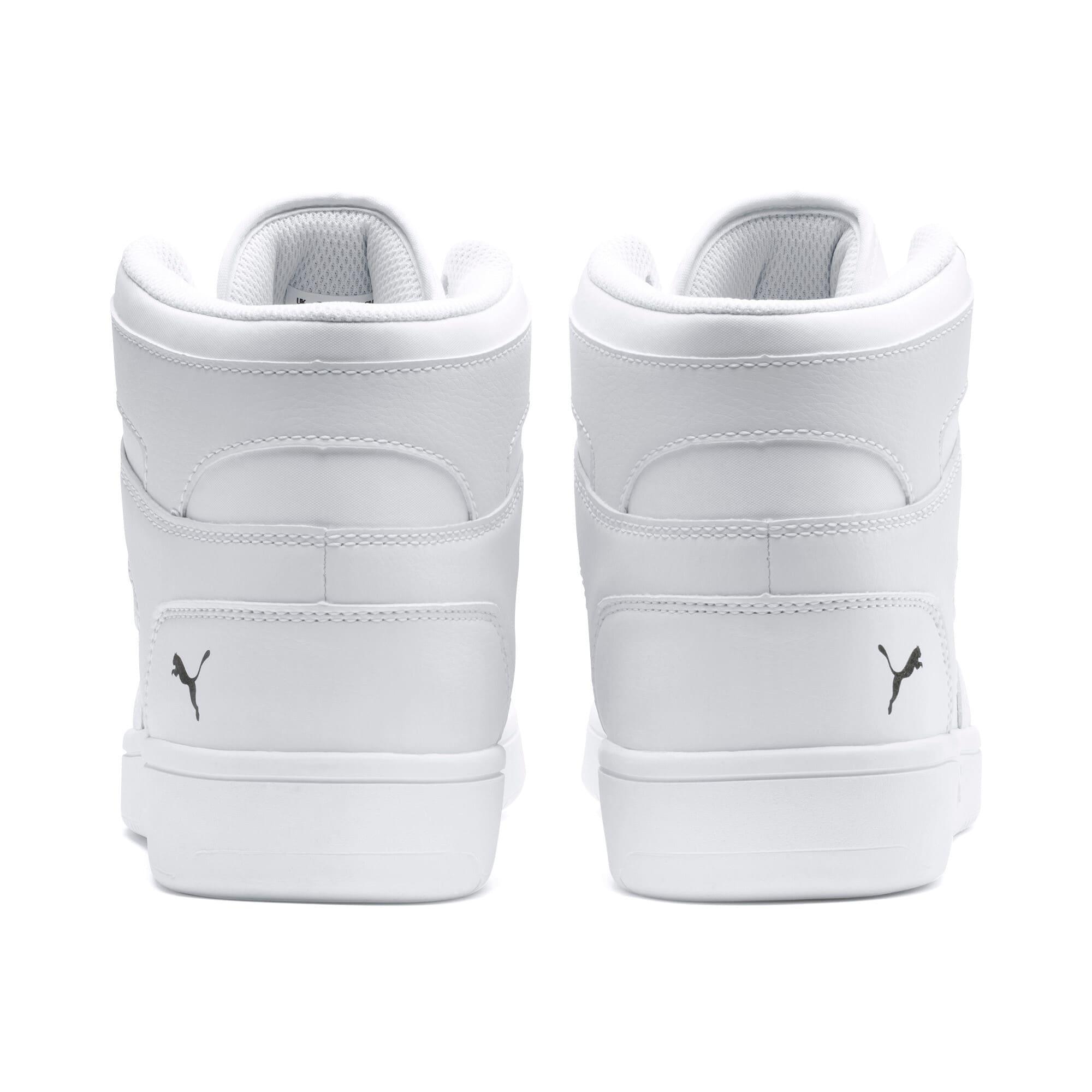 Thumbnail 3 of PUMA Rebound LayUp Sneakers, Puma White-Puma Black, medium
