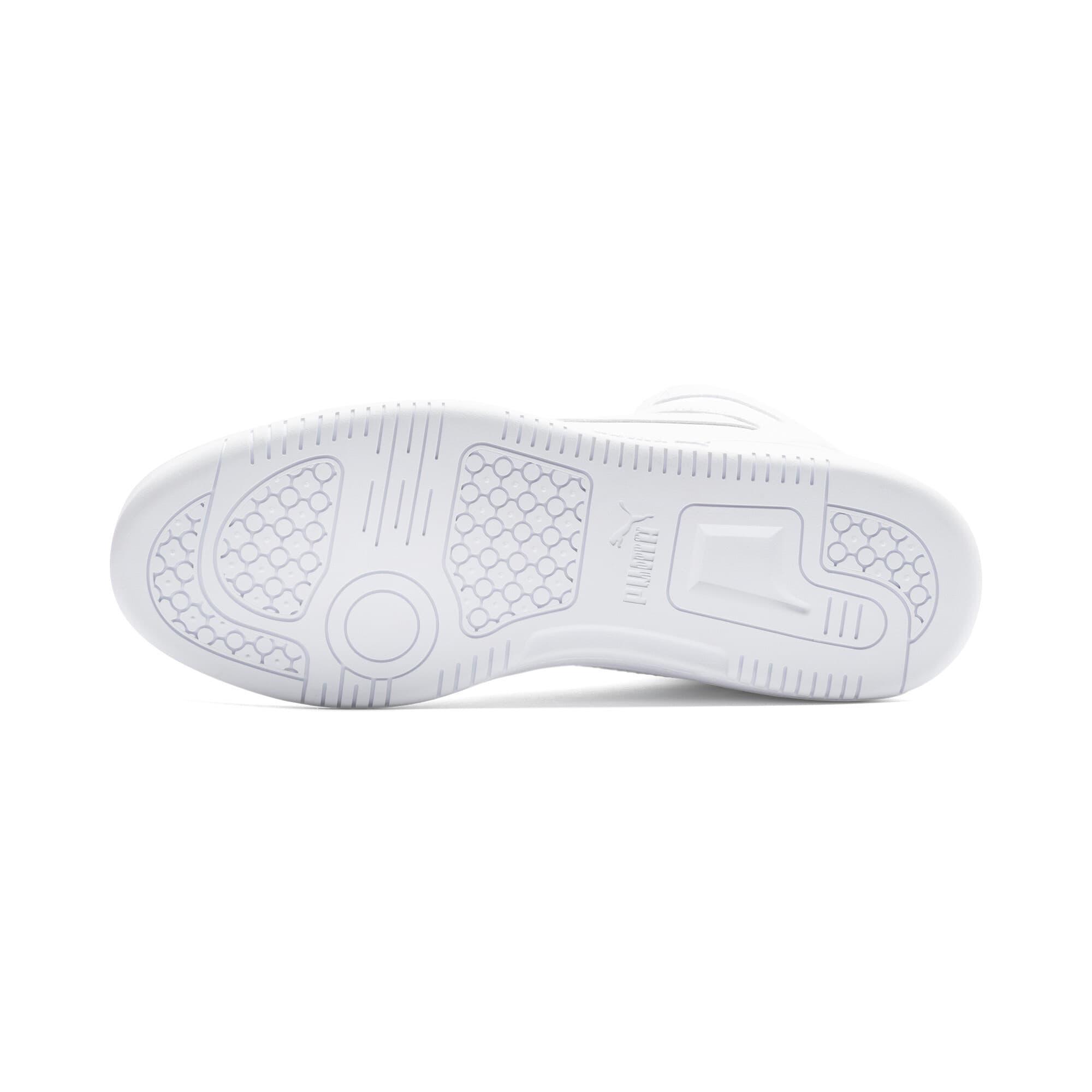 Thumbnail 4 of PUMA Rebound LayUp Sneakers, Puma White-Puma Black, medium
