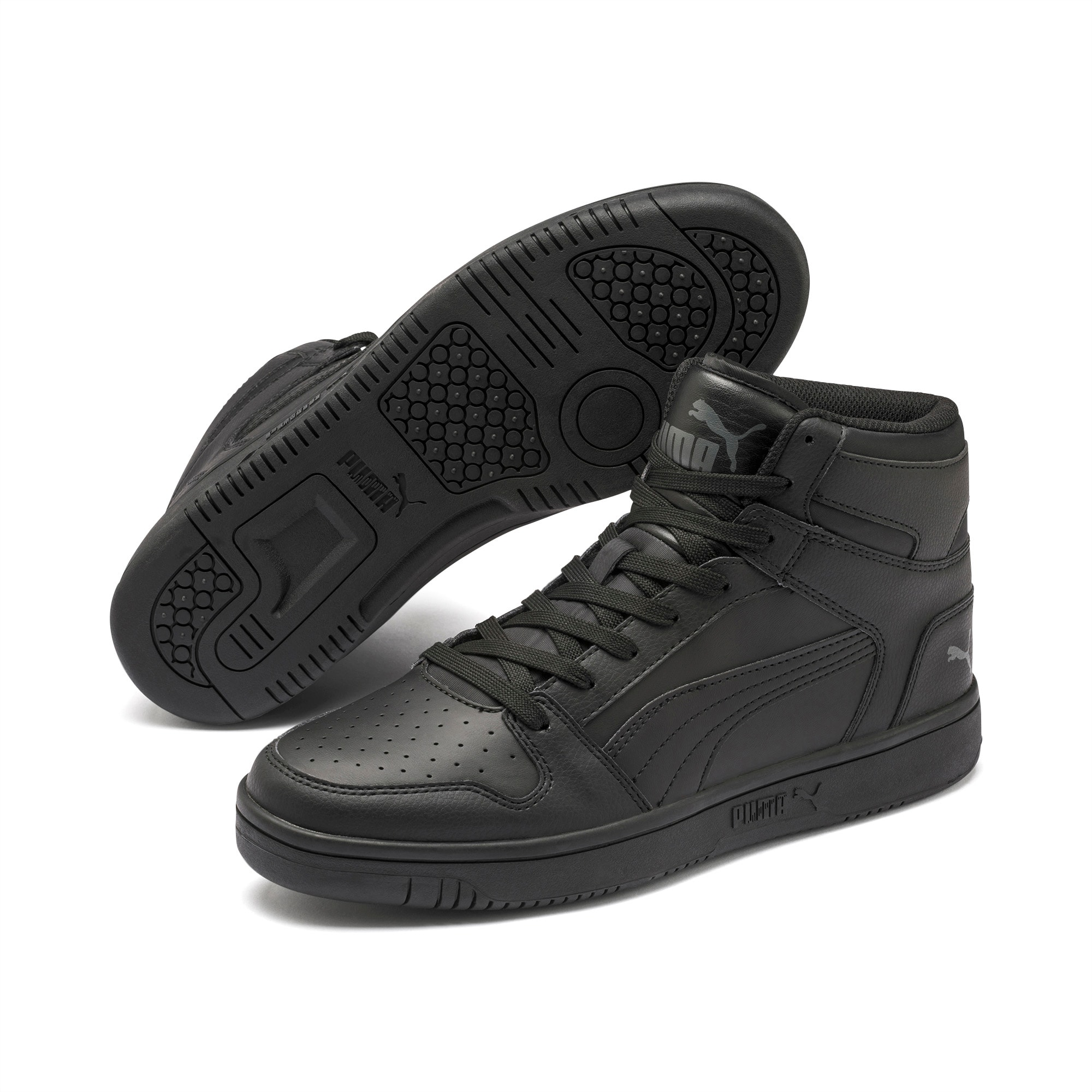 Puma Rebound sneakers black dark shadow