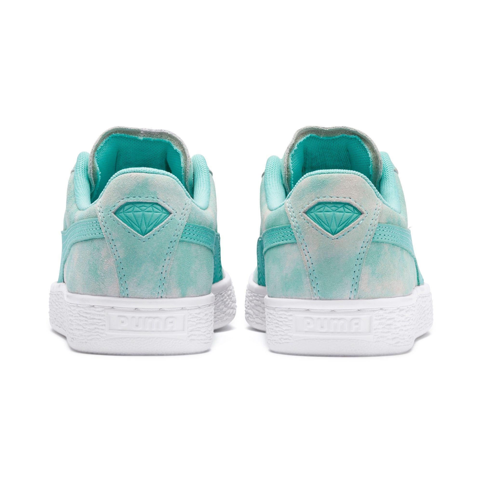 Thumbnail 4 of PUMA x DIAMOND SUPPLY CO. Suede Sneakers JR, Diamond Blue-Diamond Blue, medium