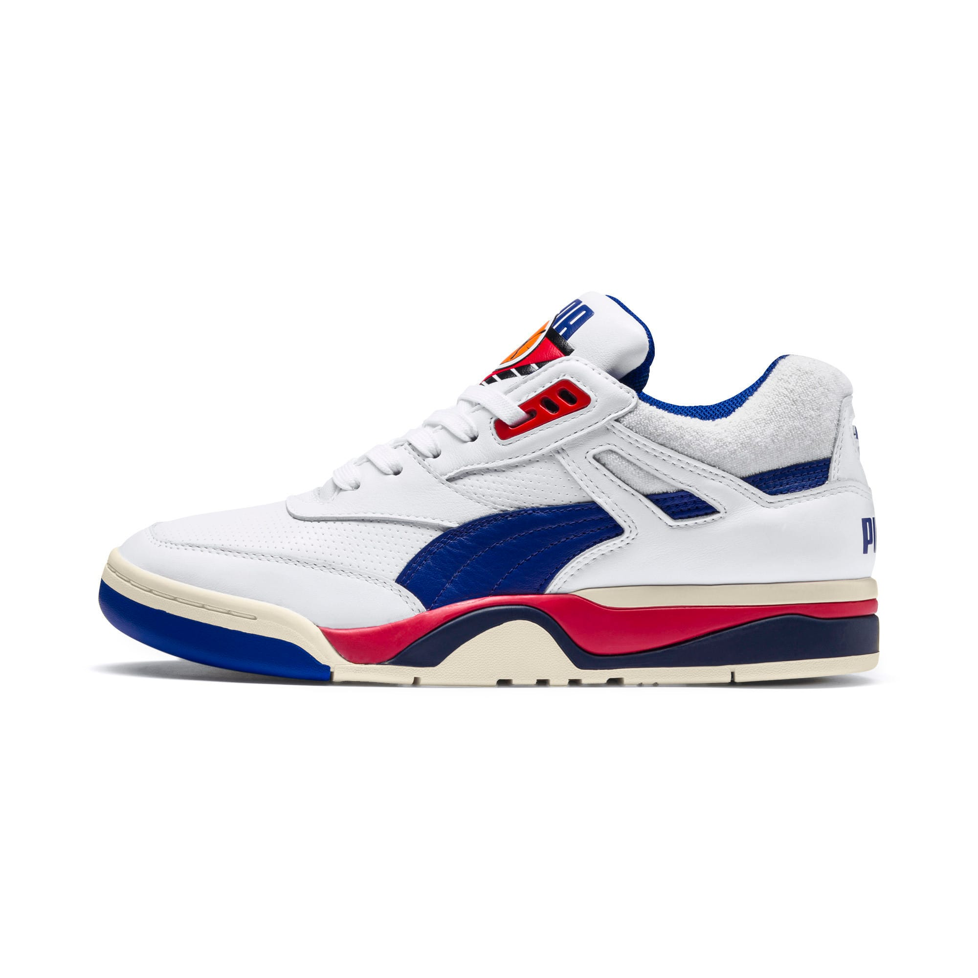 Thumbnail 1 of Palace Guard OG Trainers, Puma White-Surf The Web-Red, medium