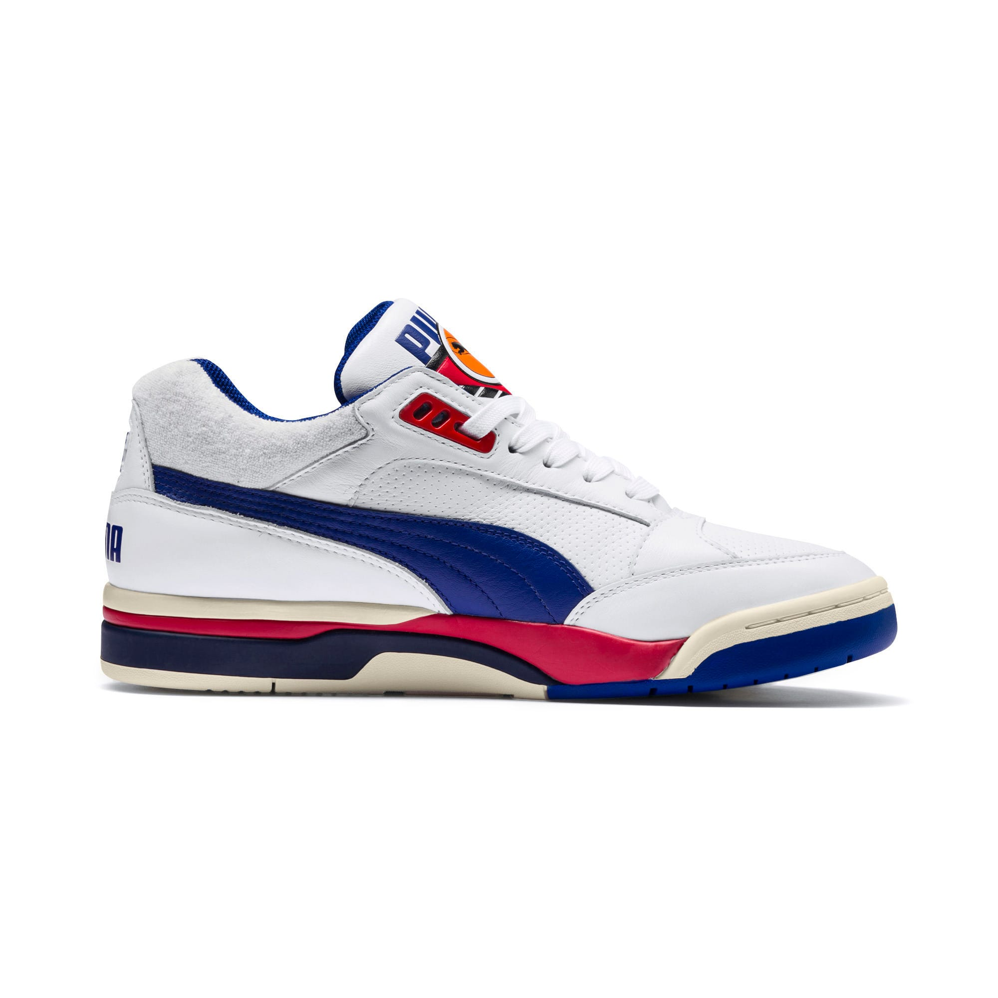 Thumbnail 5 of Palace Guard OG Trainers, Puma White-Surf The Web-Red, medium