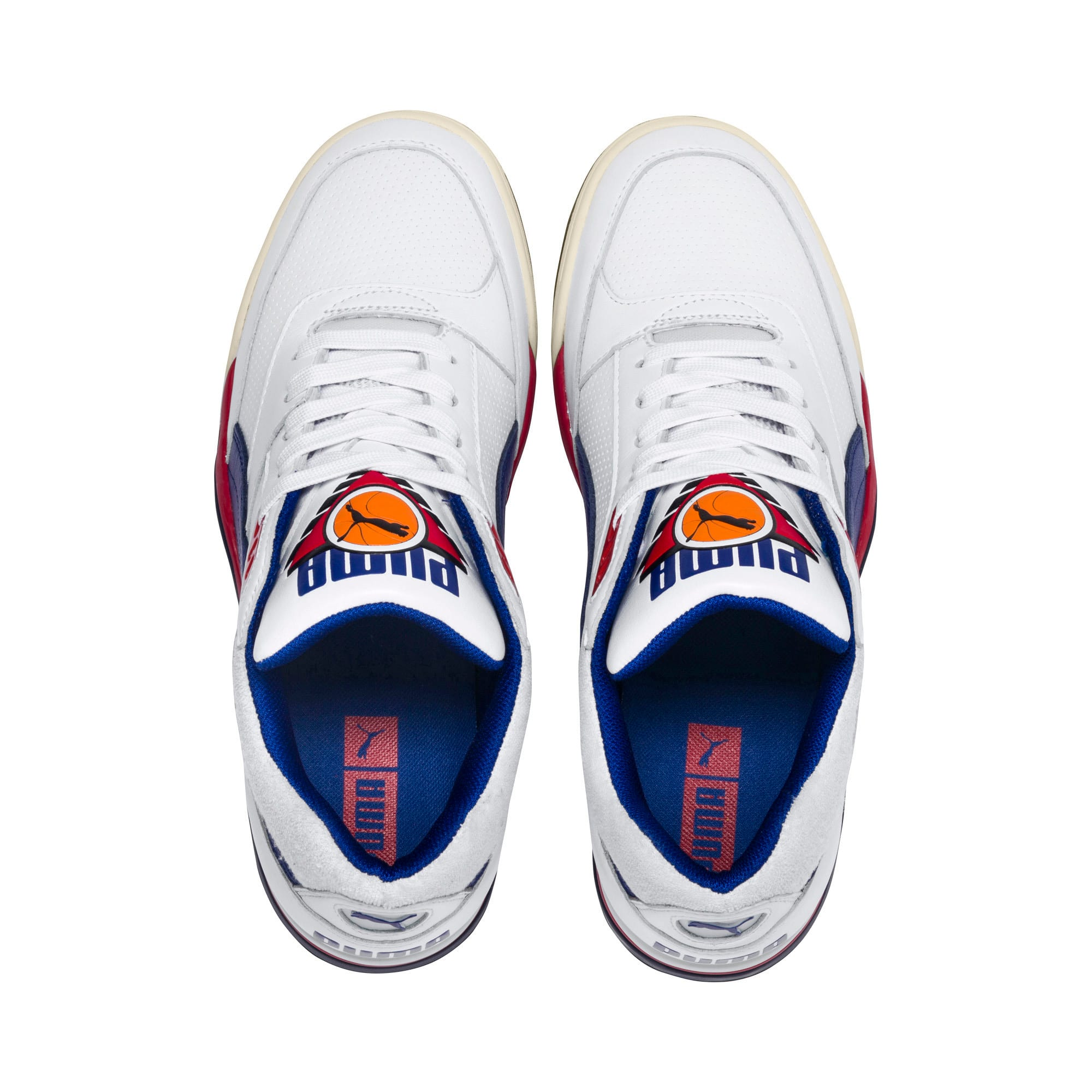 Thumbnail 6 of Palace Guard OG Trainers, Puma White-Surf The Web-Red, medium
