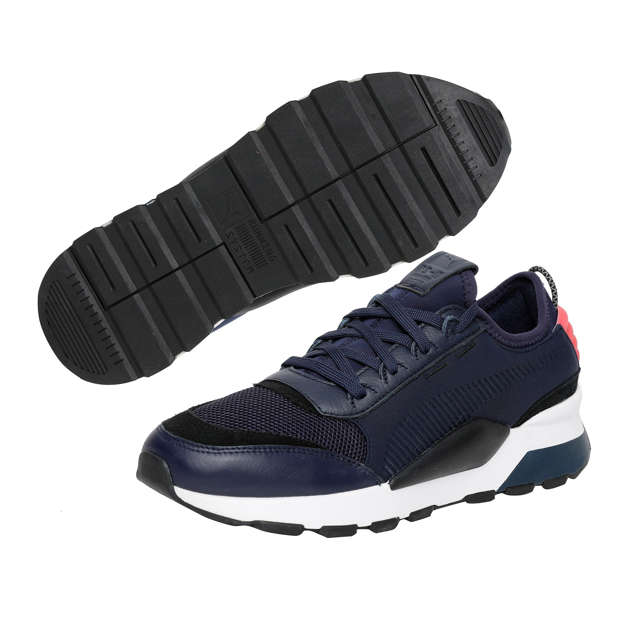 Thumbnail 6 of RS-0 Core Trainers, Peacoat-Puma Black, medium-IND