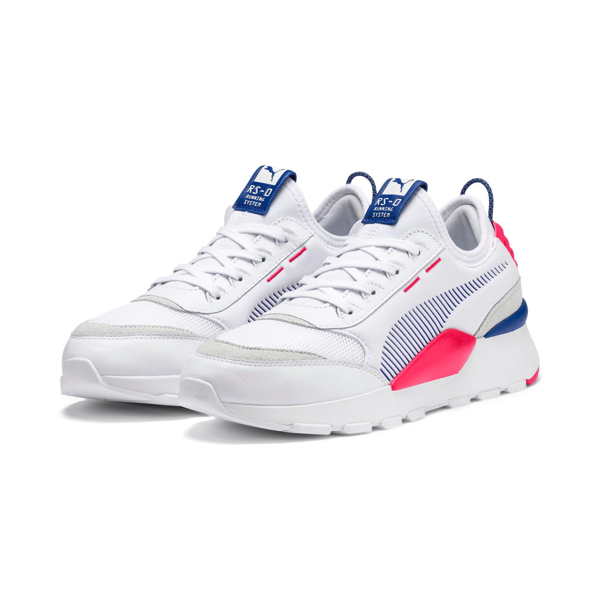 Thumbnail 2 of RS-0 Core Sneaker, Puma White-S Web-Nrgy Rose, medium