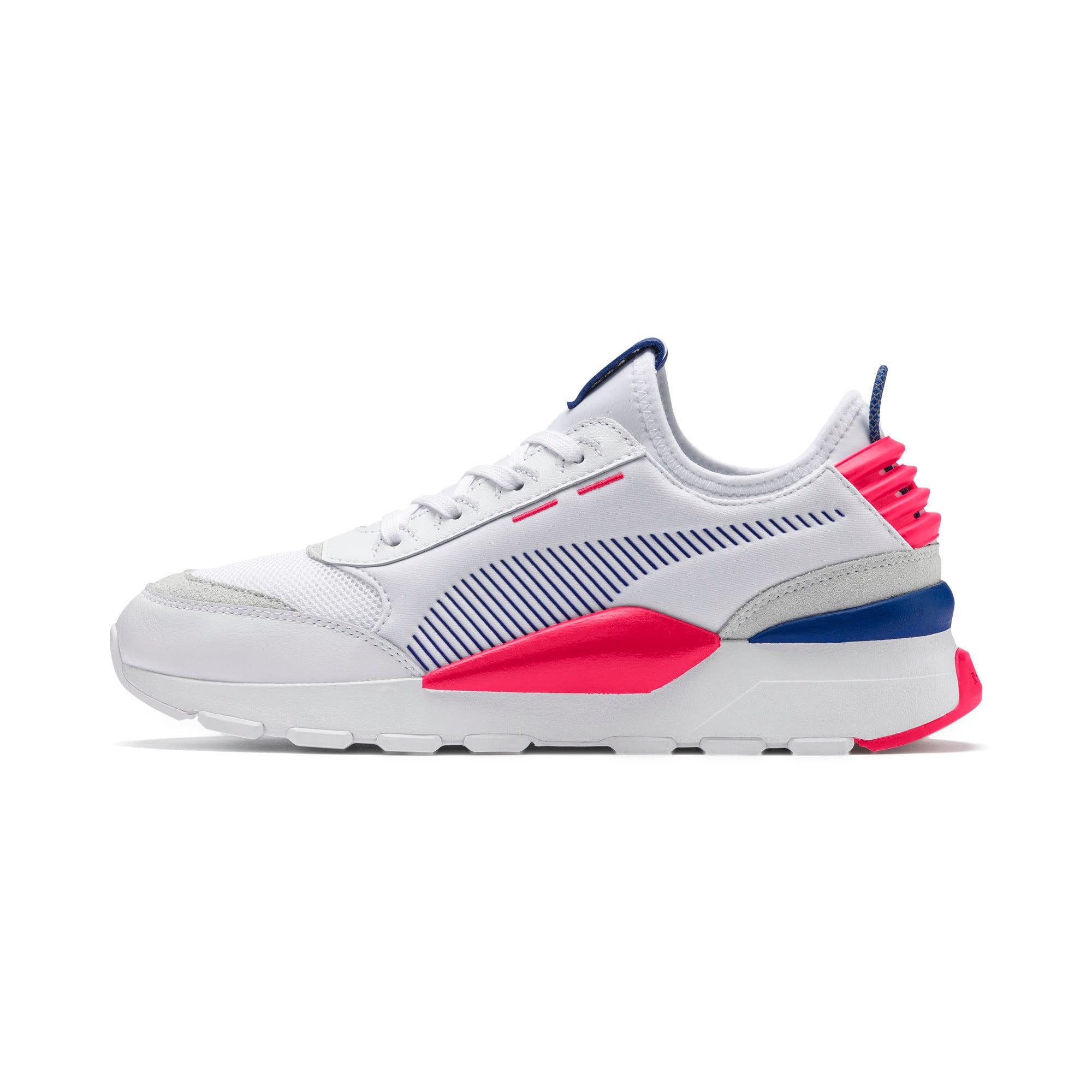 Thumbnail 1 of RS-0 Core Sneaker, Puma White-S Web-Nrgy Rose, medium