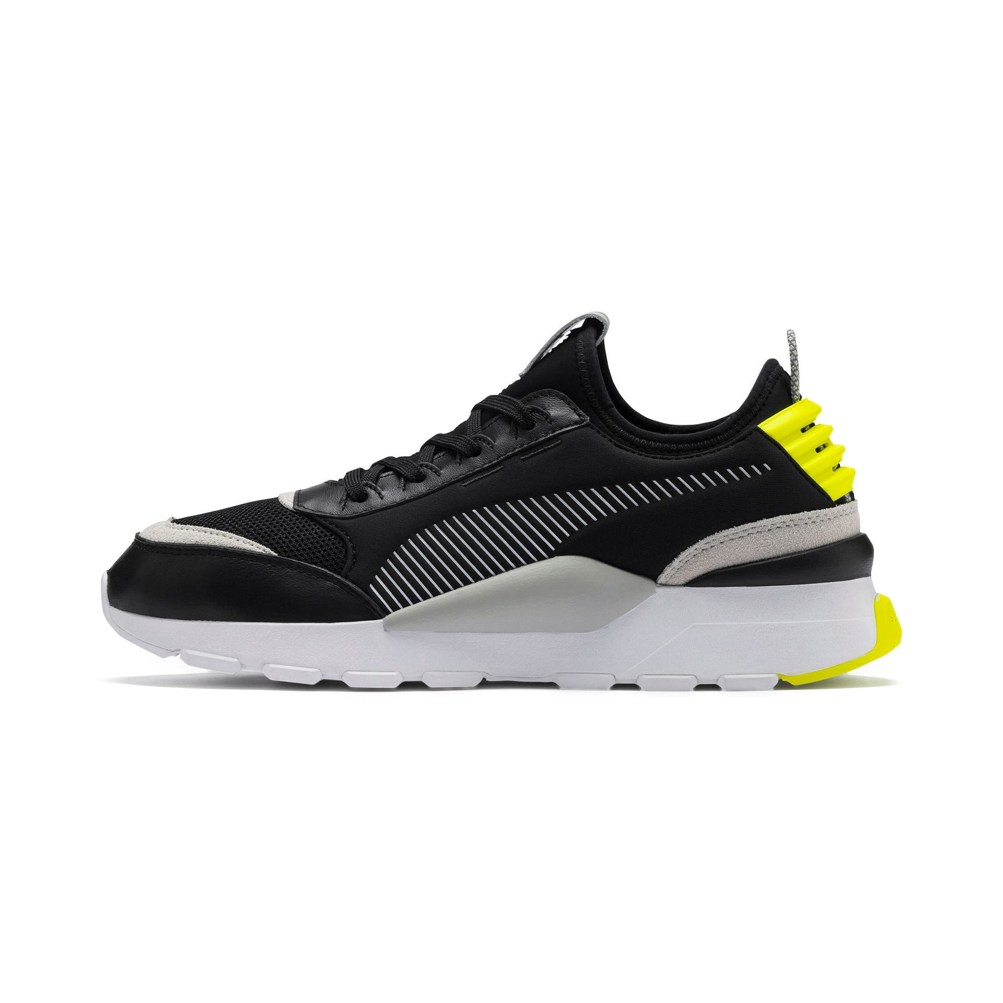 Thumbnail 1 of Basket RS-0 Core, Puma Black-G Violet-Y Alert, medium