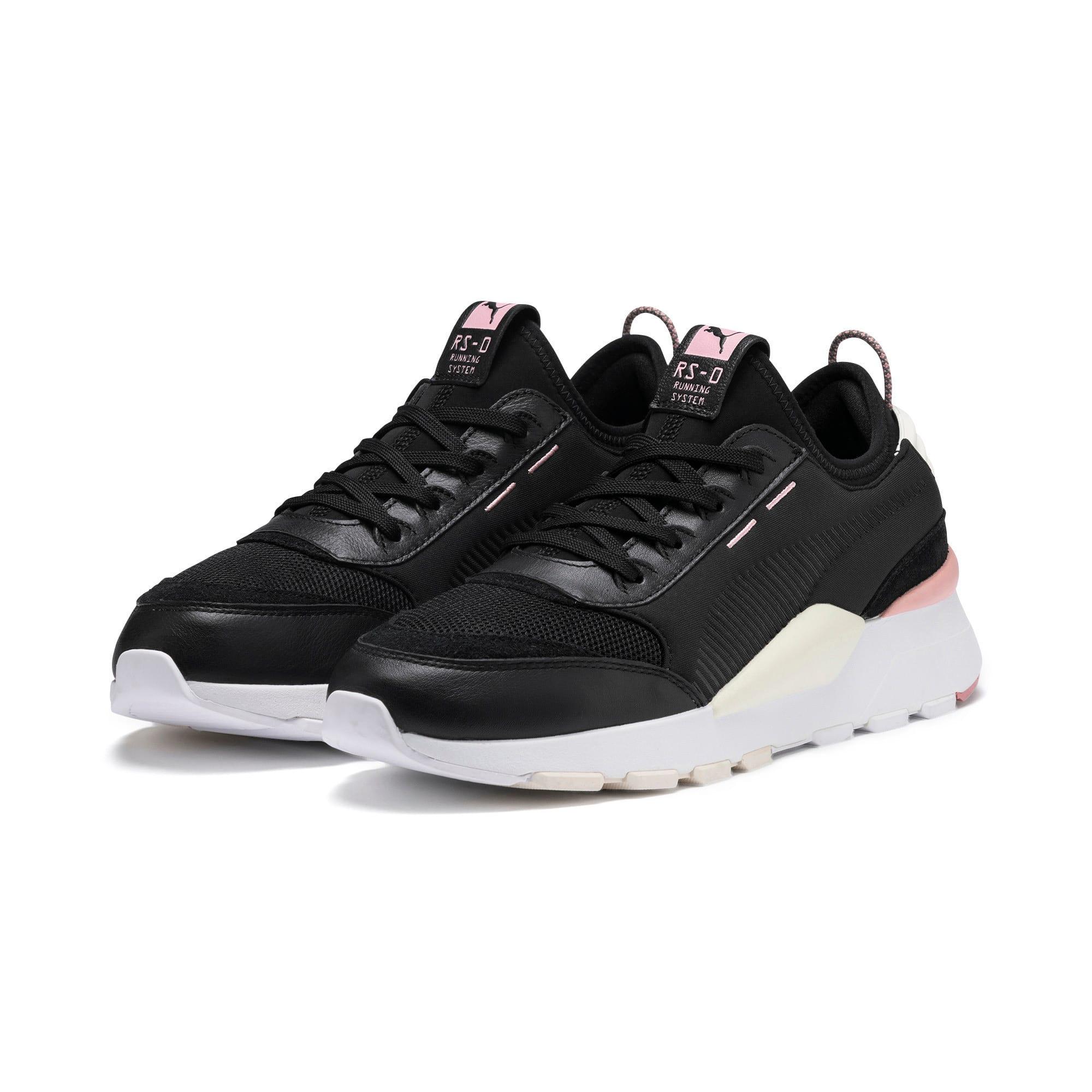 Thumbnail 3 of RS-0 Core Sneaker, P Black-W White-Bridal Rose, medium