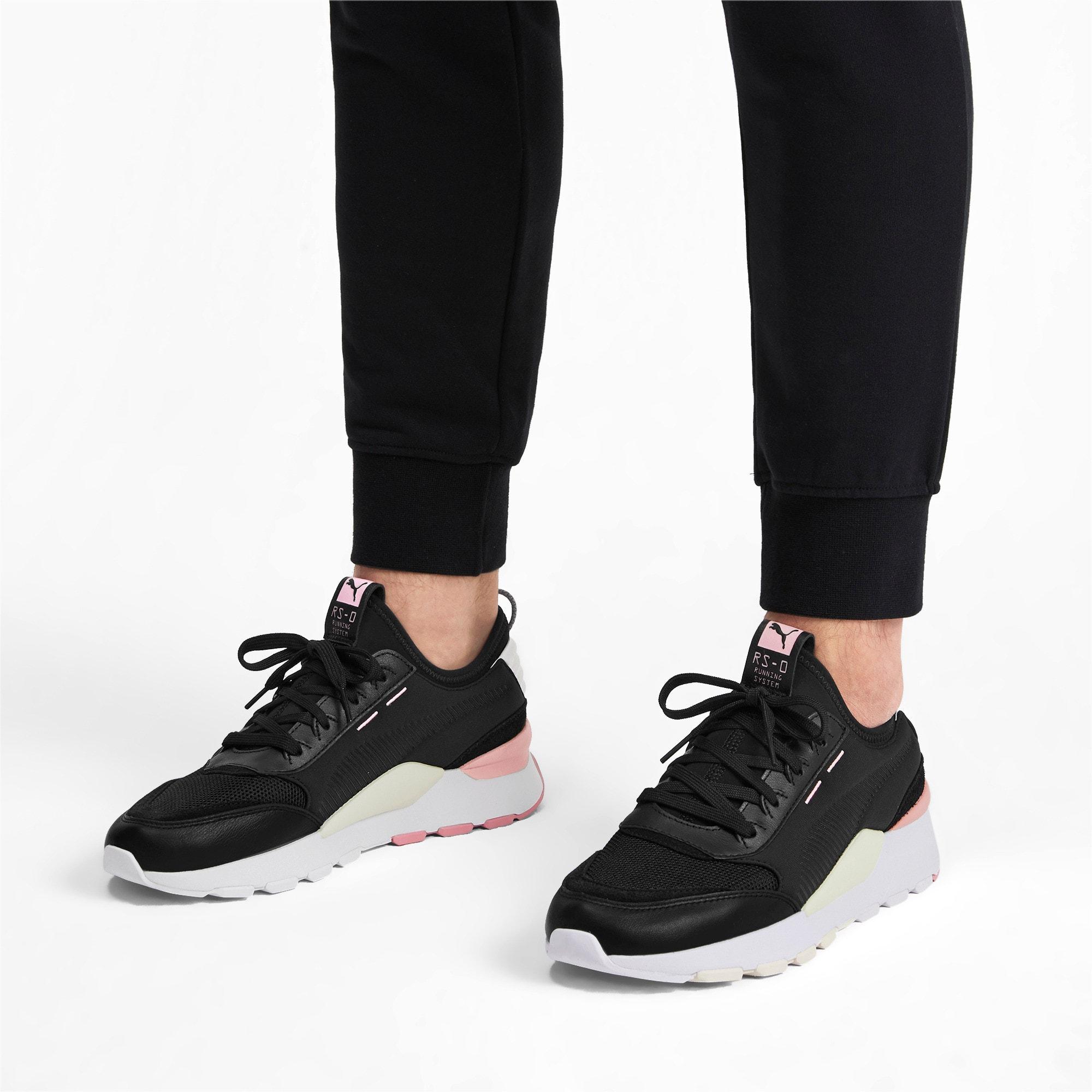 Thumbnail 2 of RS-0 Core Sneaker, P Black-W White-Bridal Rose, medium
