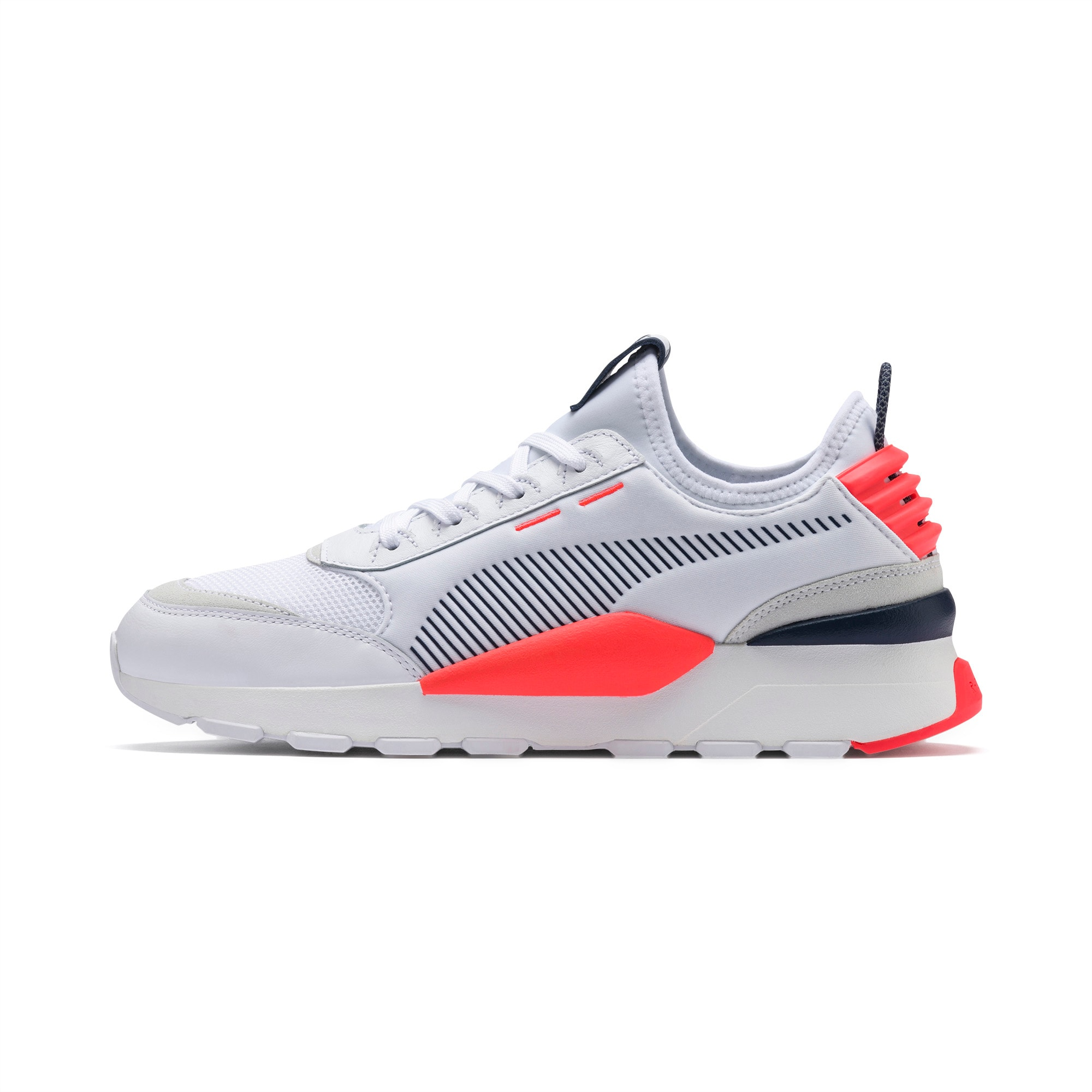 con tiempo maíz Velo  RS-0 Core Shoes | P White-Peacoat-Fiery Coral | PUMA Shoes | PUMA