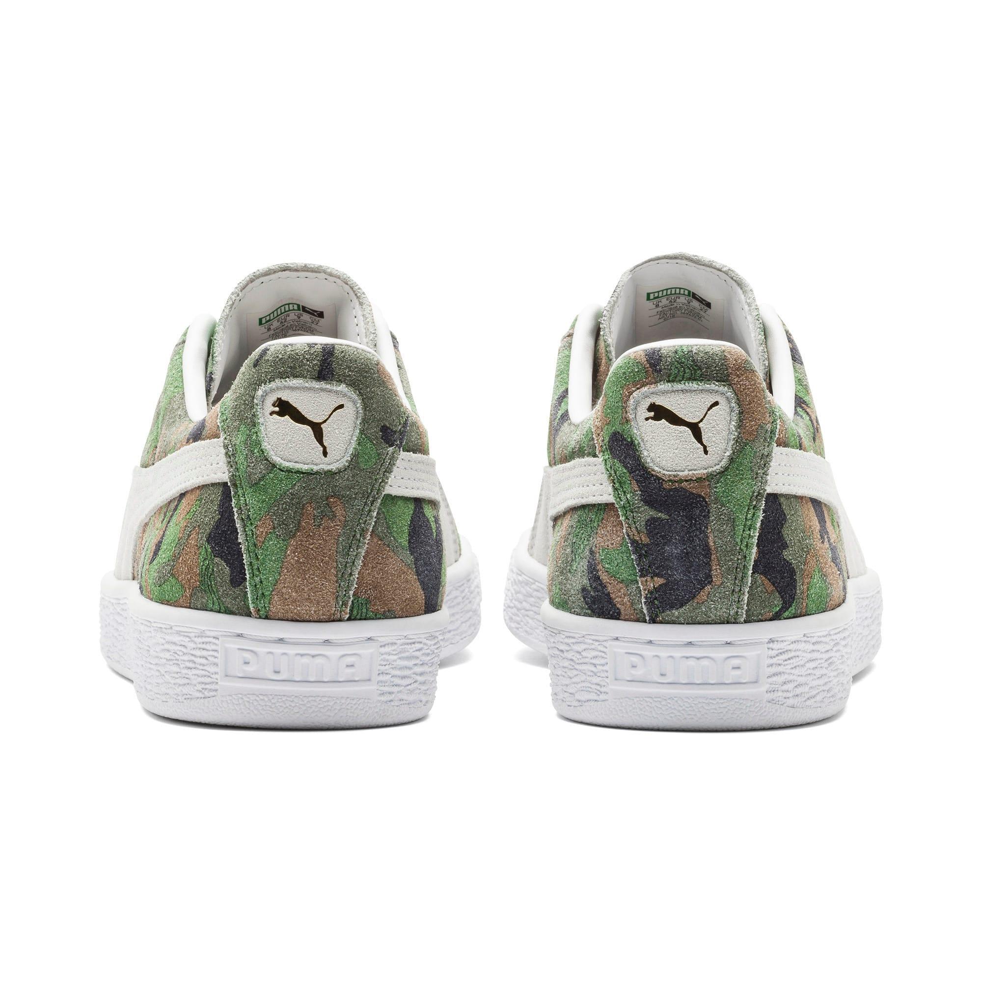Thumbnail 3 of Suede Classic Ambush Sneakers, Dachsund-Green-Black-White, medium