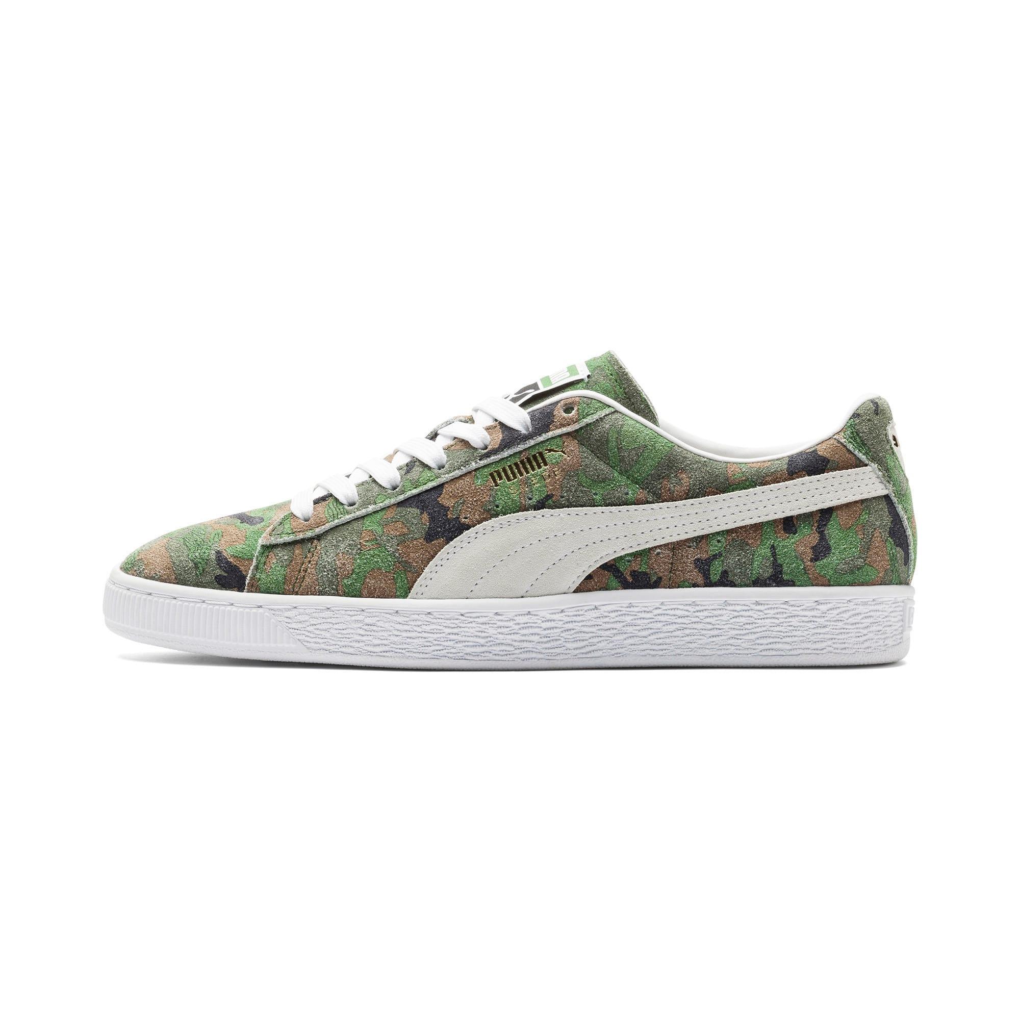 Thumbnail 1 of Suede Classic Ambush Sneakers, Dachsund-Green-Black-White, medium