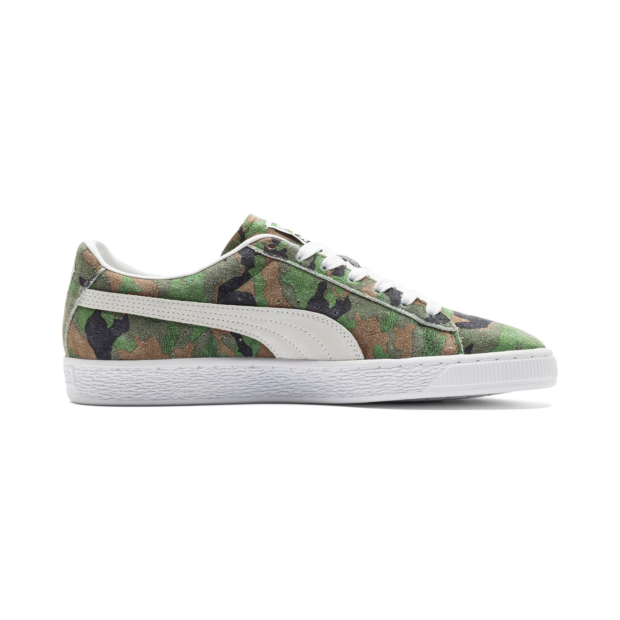 Thumbnail 5 of Suede Classic Ambush Sneakers, Dachsund-Green-Black-White, medium