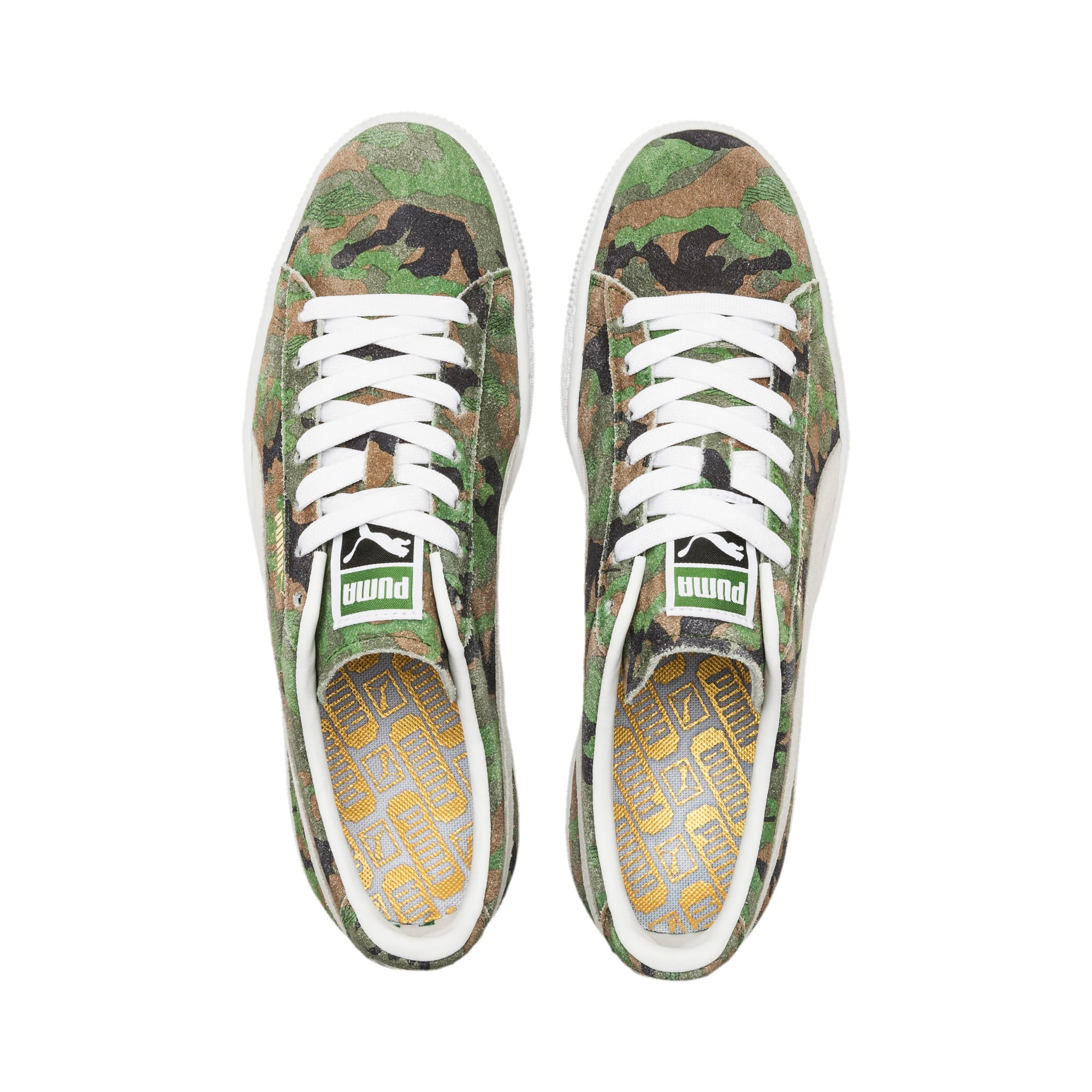 Thumbnail 6 of Suede Classic Ambush Sneakers, Dachsund-Green-Black-White, medium