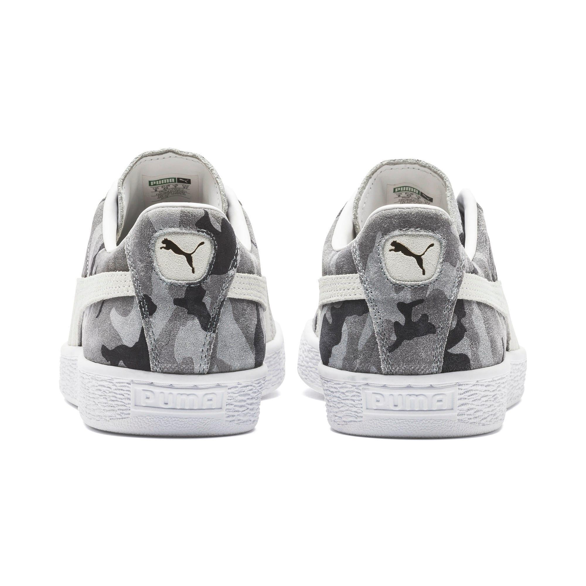 Thumbnail 3 of Suede Classic Ambush Sneakers, Puma Black-CASTLEROCK-White, medium