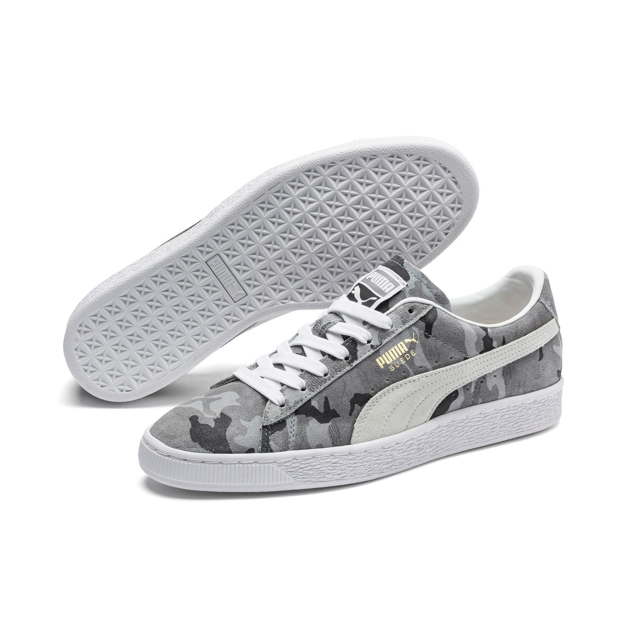 Thumbnail 2 of Suede Classic Ambush Sneakers, Puma Black-CASTLEROCK-White, medium