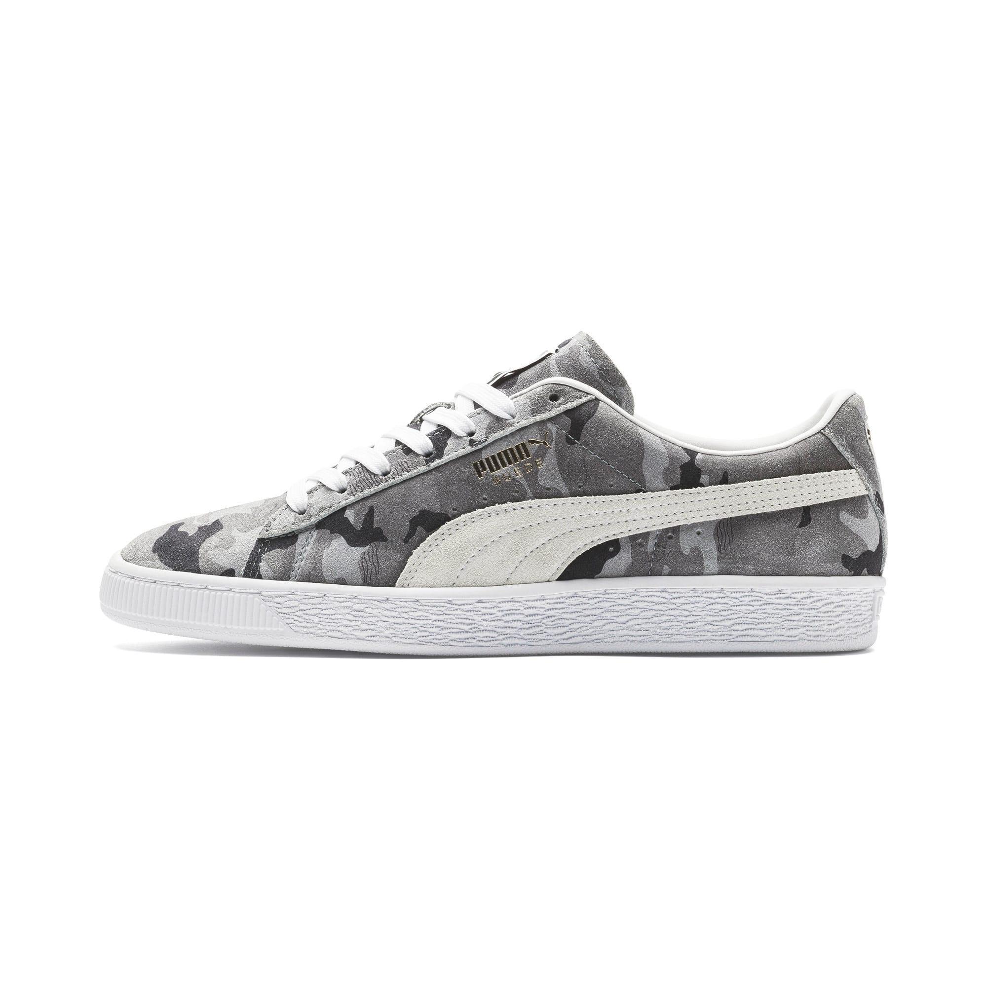 Thumbnail 1 of Suede Classic Ambush Sneakers, Puma Black-CASTLEROCK-White, medium