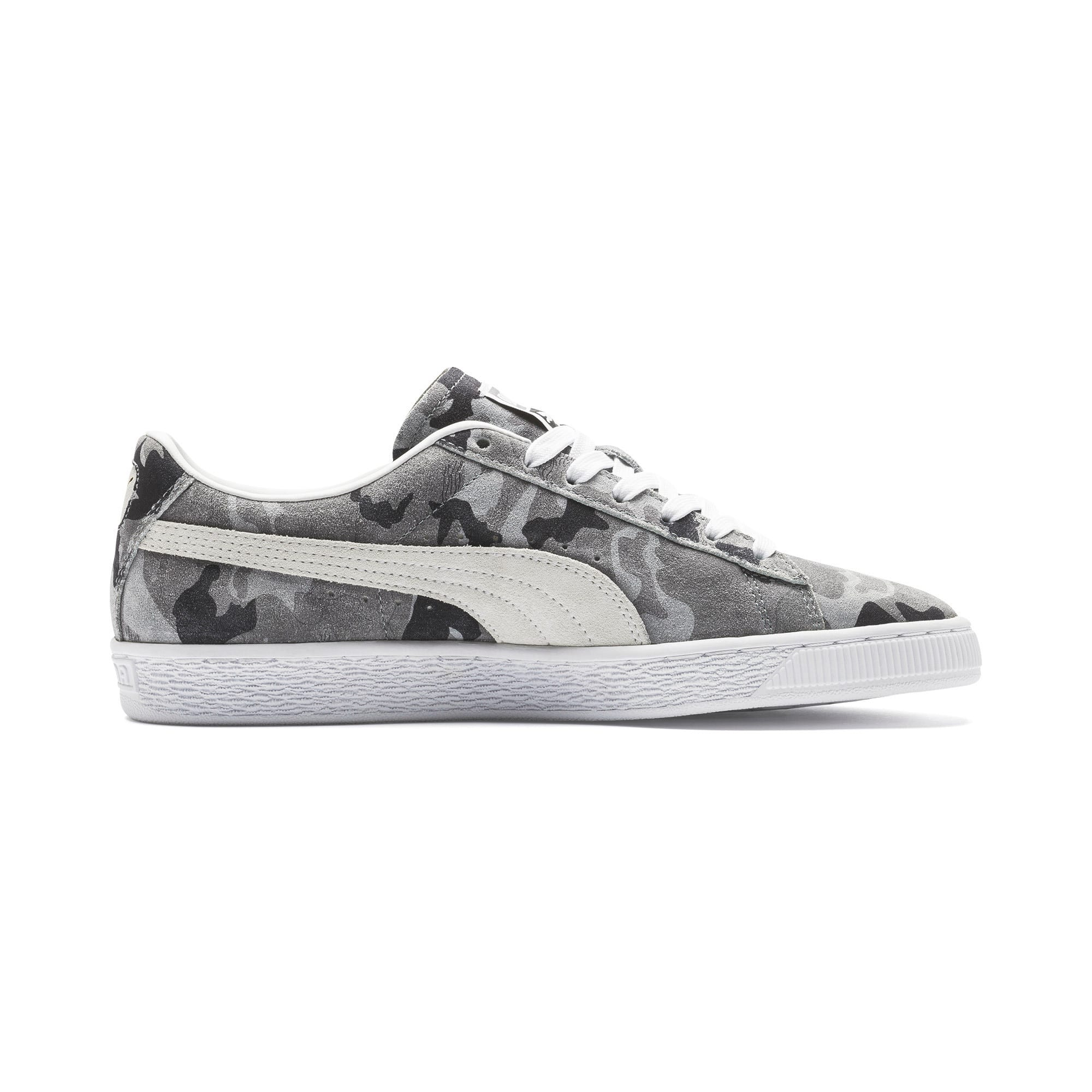 Thumbnail 5 of Suede Classic Ambush Sneakers, Puma Black-CASTLEROCK-White, medium