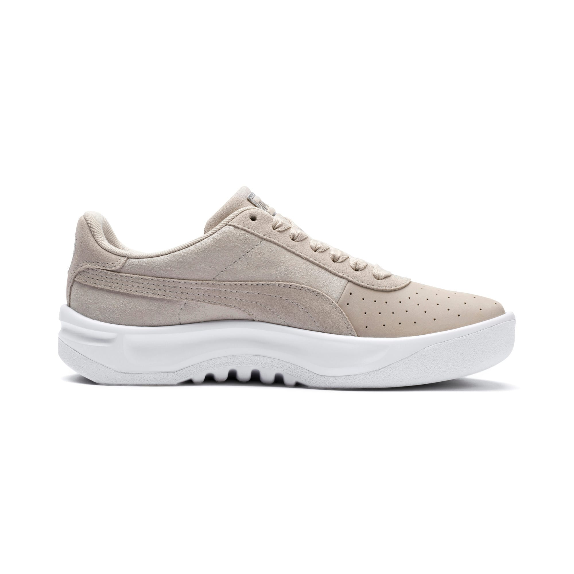 Thumbnail 6 of California Shimmer Damen Sneaker, Silver Gray-Puma Silver, medium