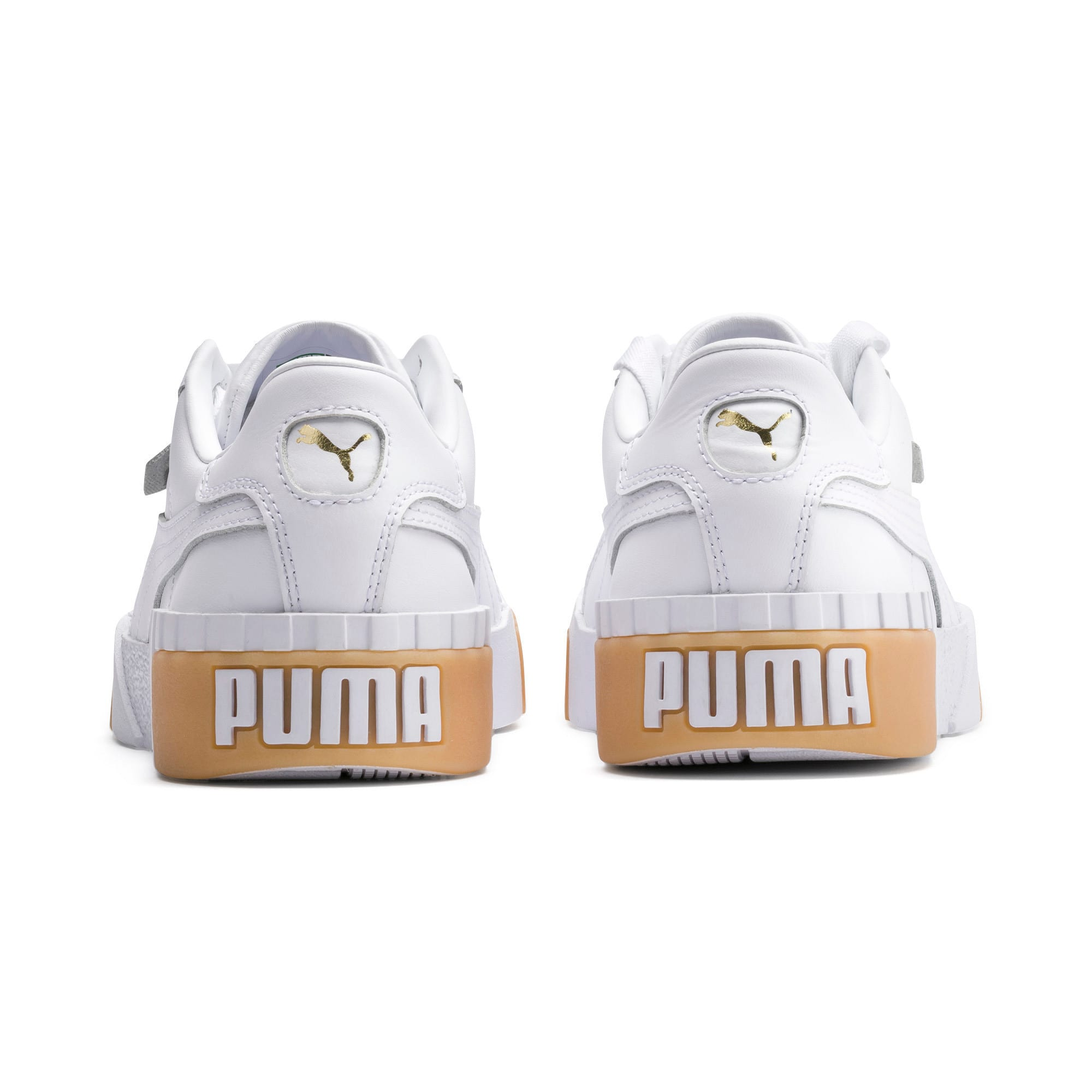 Thumbnail 3 of Zapatillas de mujer Cali Exotic, Puma White-Puma White, medium