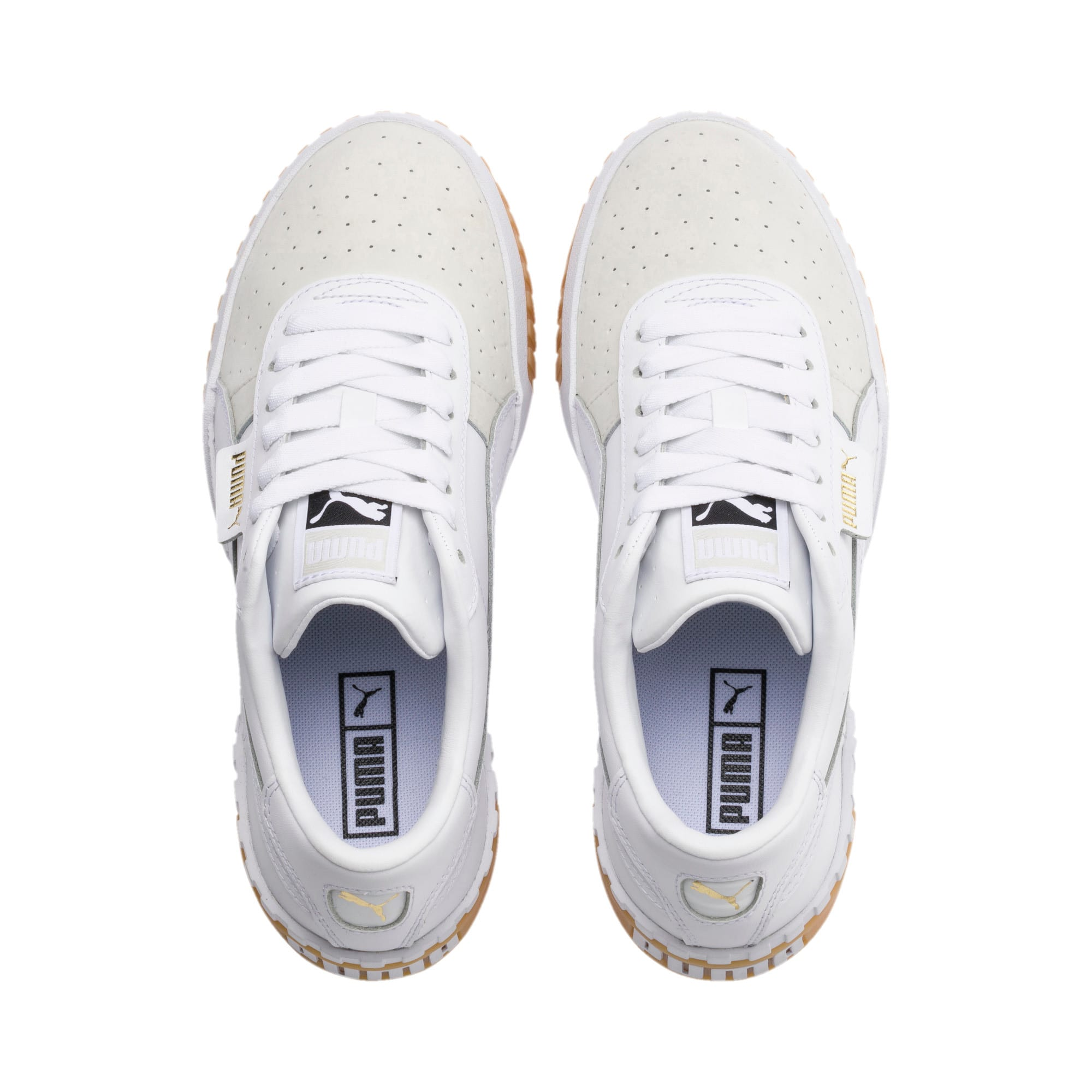 Thumbnail 6 of Zapatillas de mujer Cali Exotic, Puma White-Puma White, medium