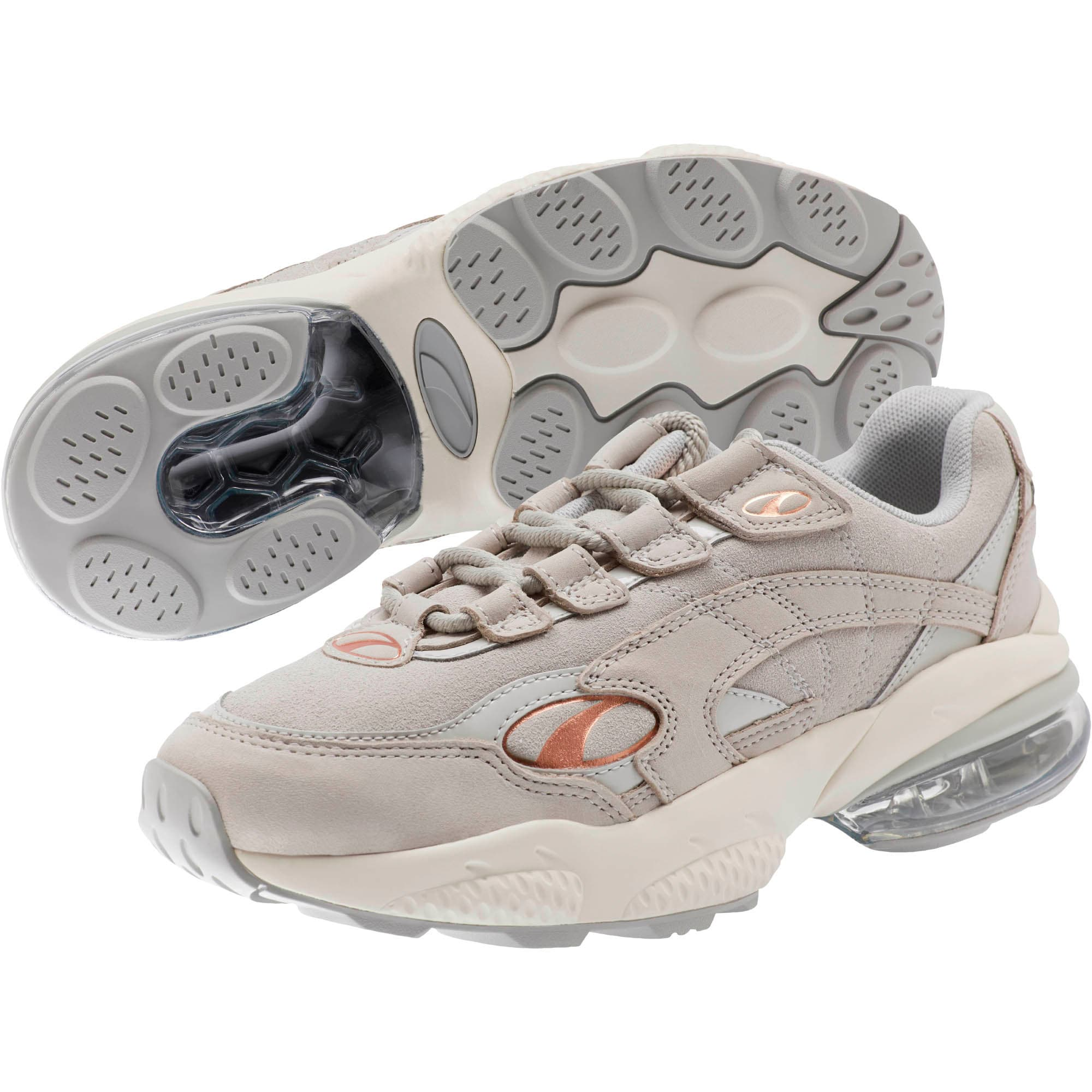 Thumbnail 2 of CELL Venom Patent Women's Sneakers, Gray Violet-Marshmallow, medium