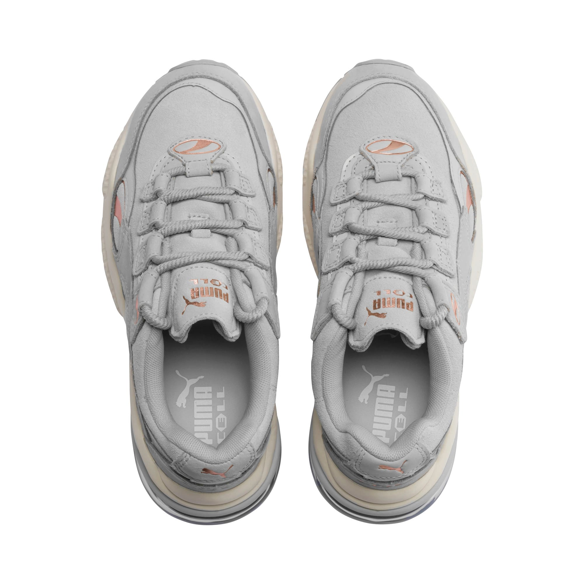 Thumbnail 6 of CELL Venom Patent Women's Sneakers, Gray Violet-Marshmallow, medium