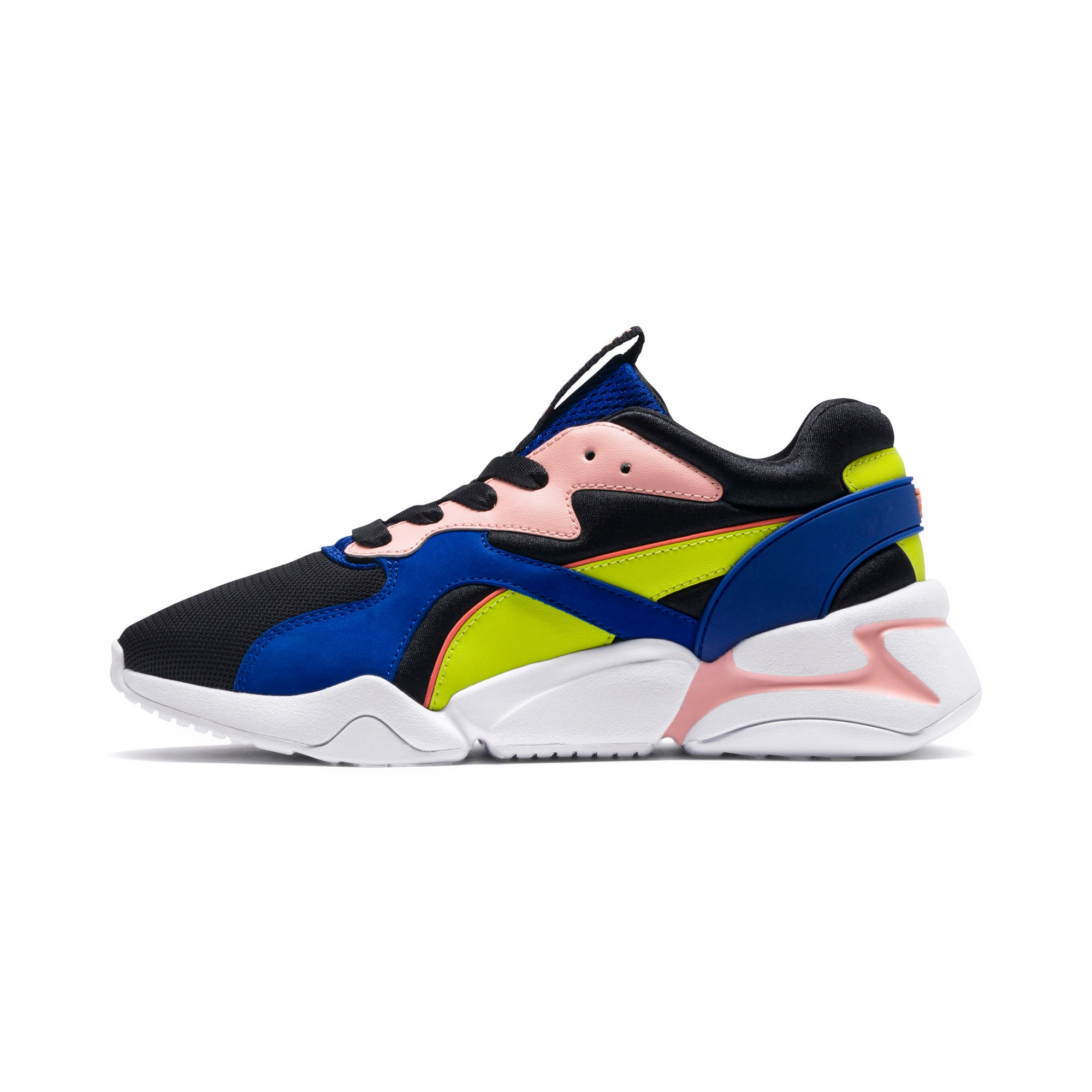 Thumbnail 1 of プーマ ノーヴァ GRL PWR ウィメンズ, Puma Black-Surf The Web, medium-JPN
