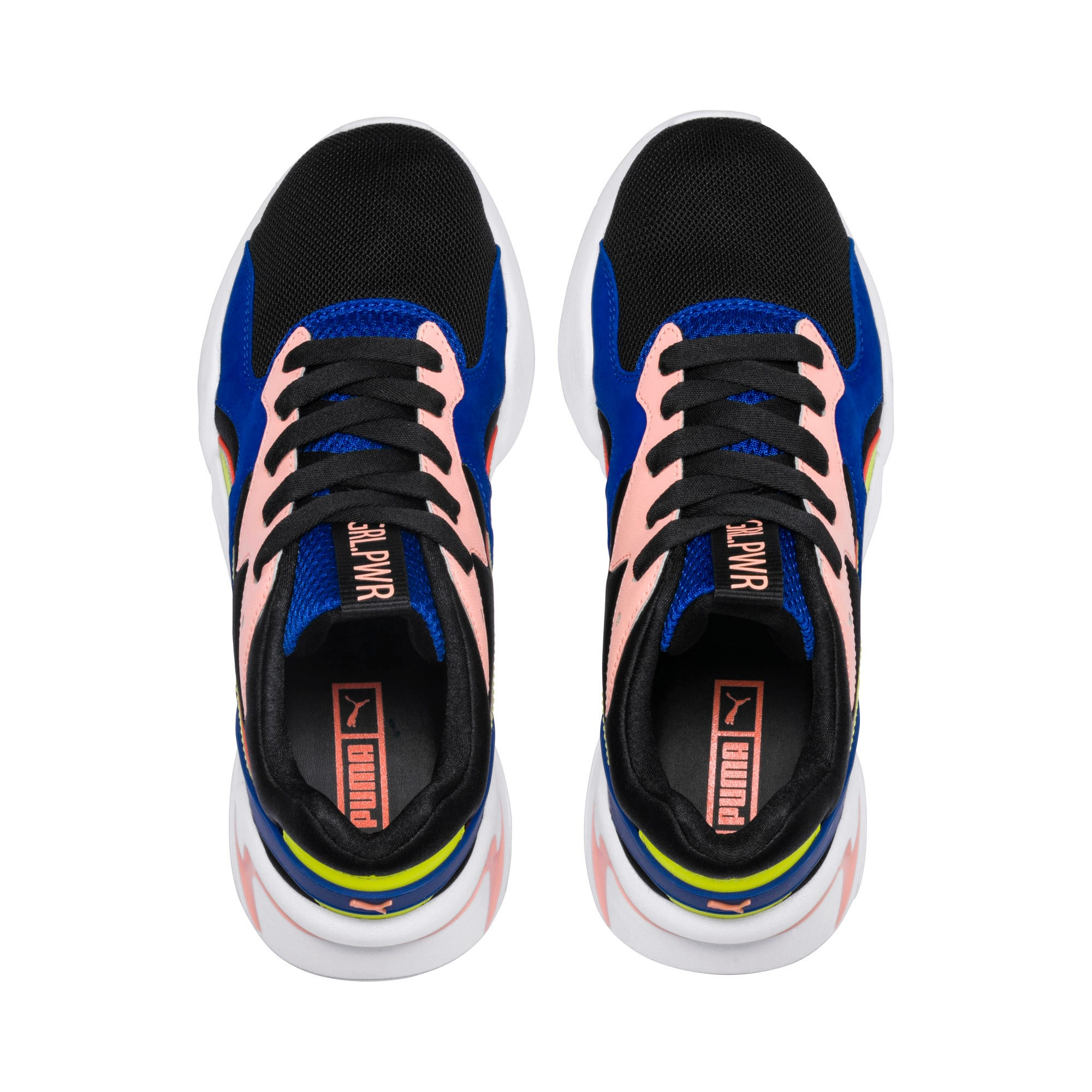 Thumbnail 7 of プーマ ノーヴァ GRL PWR ウィメンズ, Puma Black-Surf The Web, medium-JPN