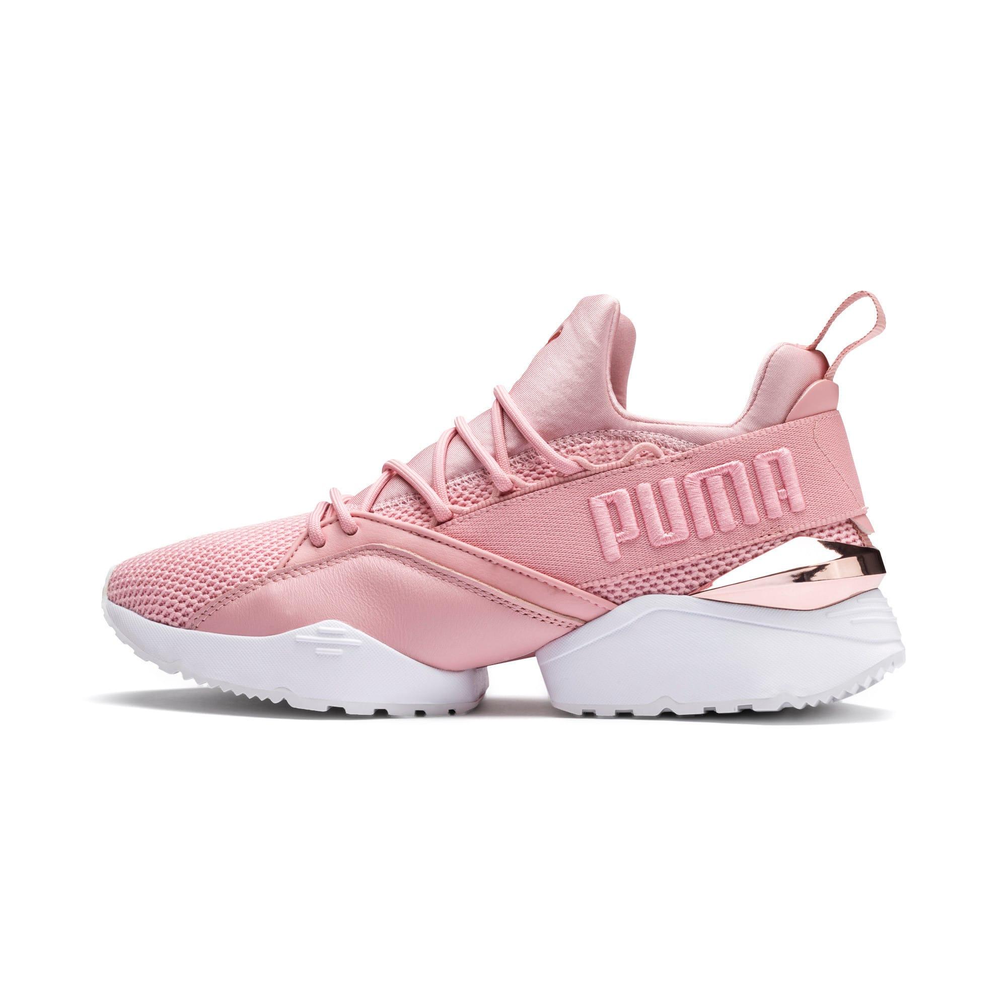 Muse Maia Metallic Rose Damen Sneaker