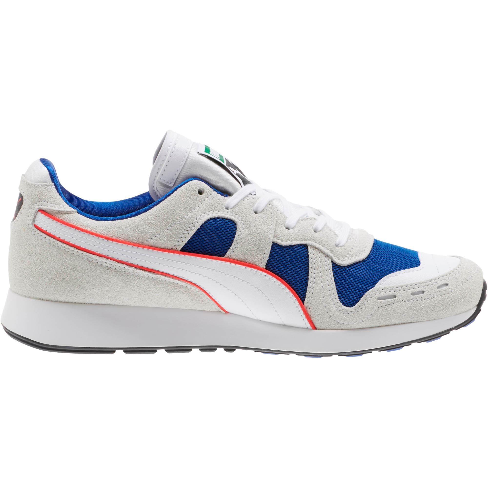 Thumbnail 3 of RS-100 Core Sneakers, Puma White-Surf The Web, medium