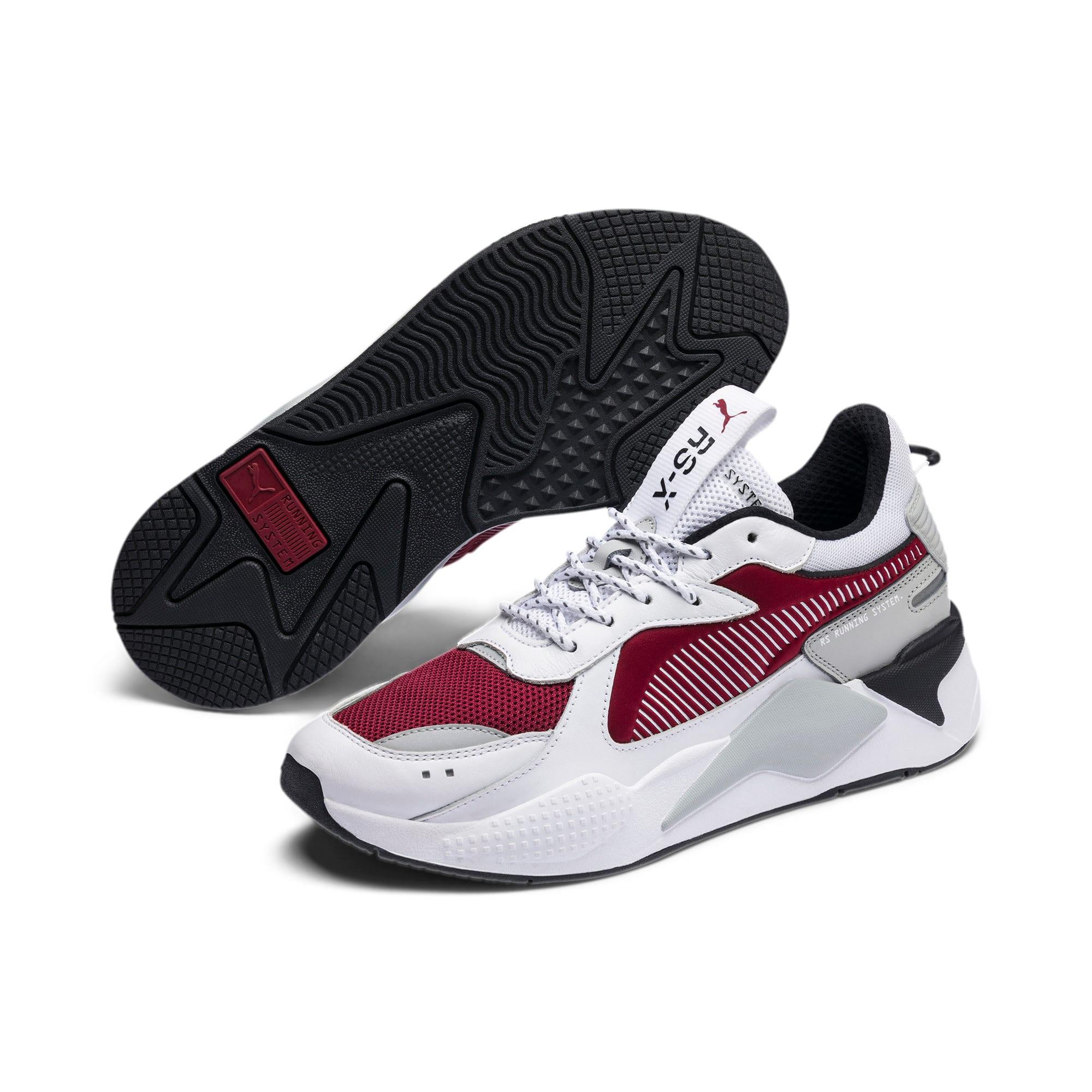 Thumbnail 3 of RS-X Sneaker, Puma White-Rhubarb, medium