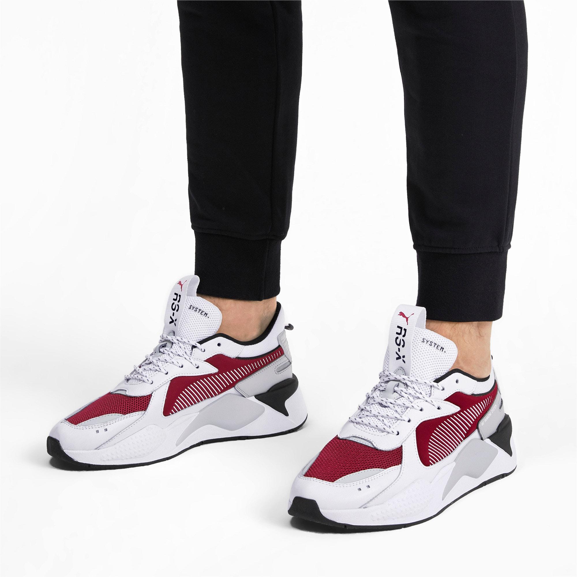 Thumbnail 2 of RS-X Core Sneakers, Puma White-Rhubarb, medium