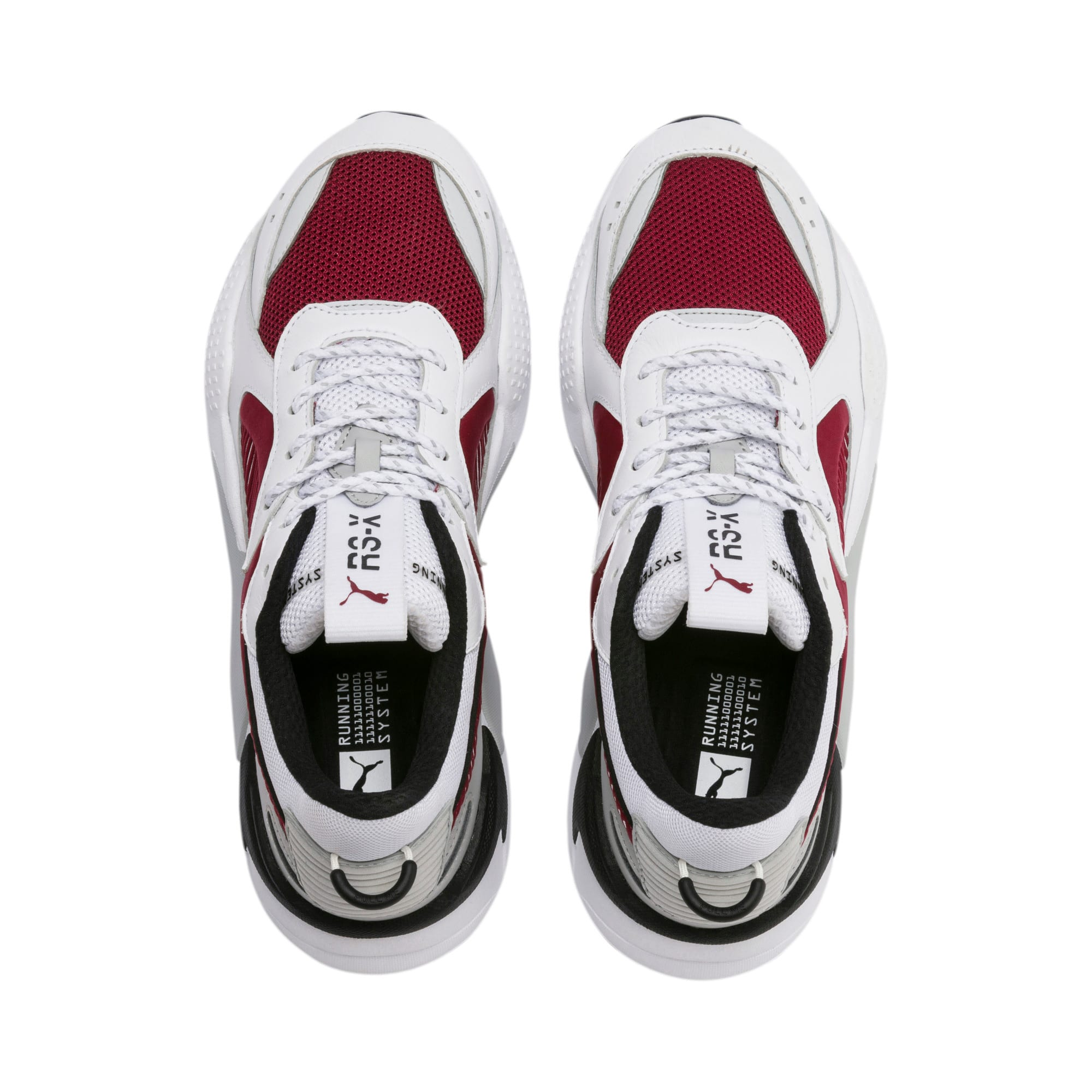 Thumbnail 7 of RS-X Core Sneakers, Puma White-Rhubarb, medium