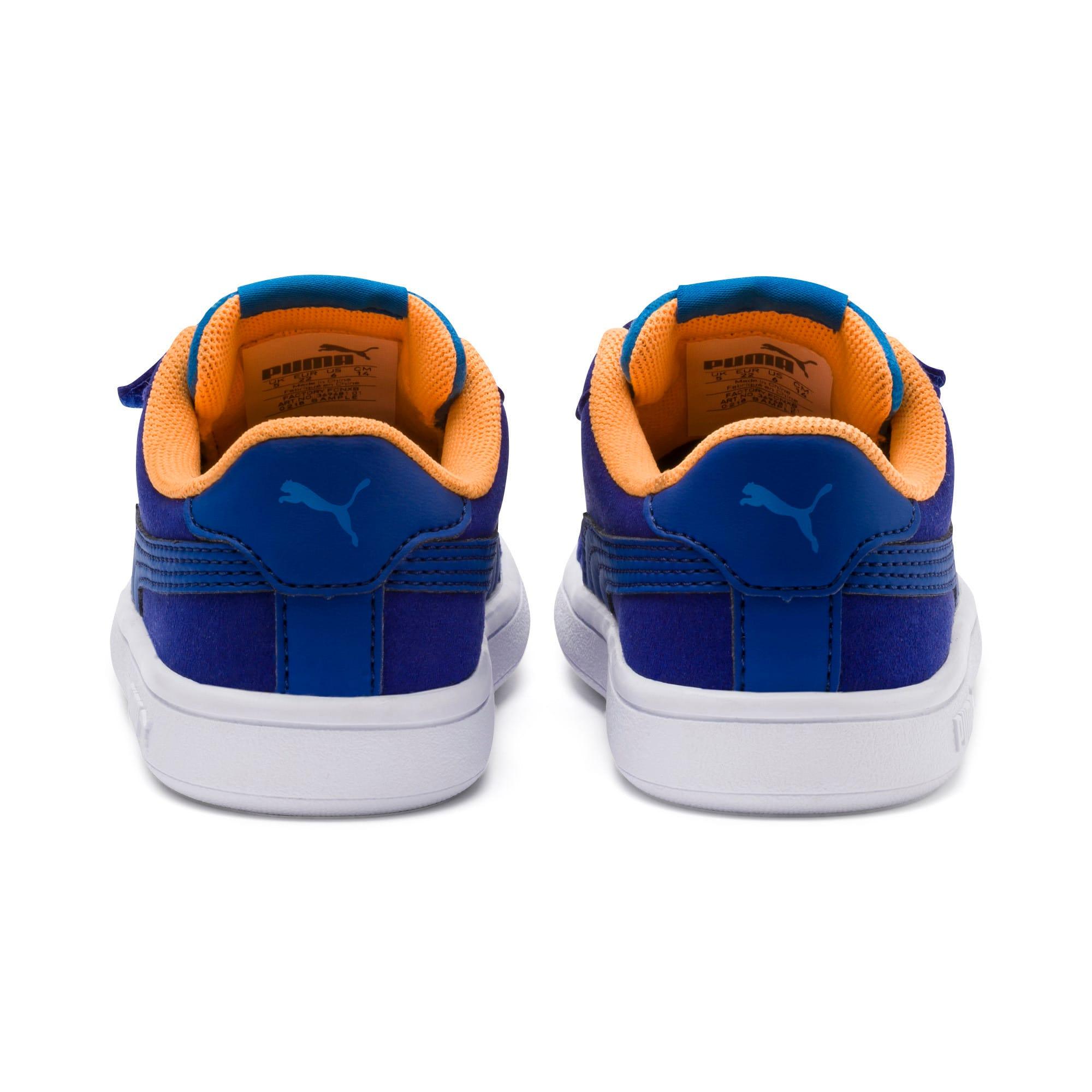 Thumbnail 3 of PUMA Smash v2 Monster Toddler Shoes, Sf Th Wb-I Bunting-Ornge-Wht, medium