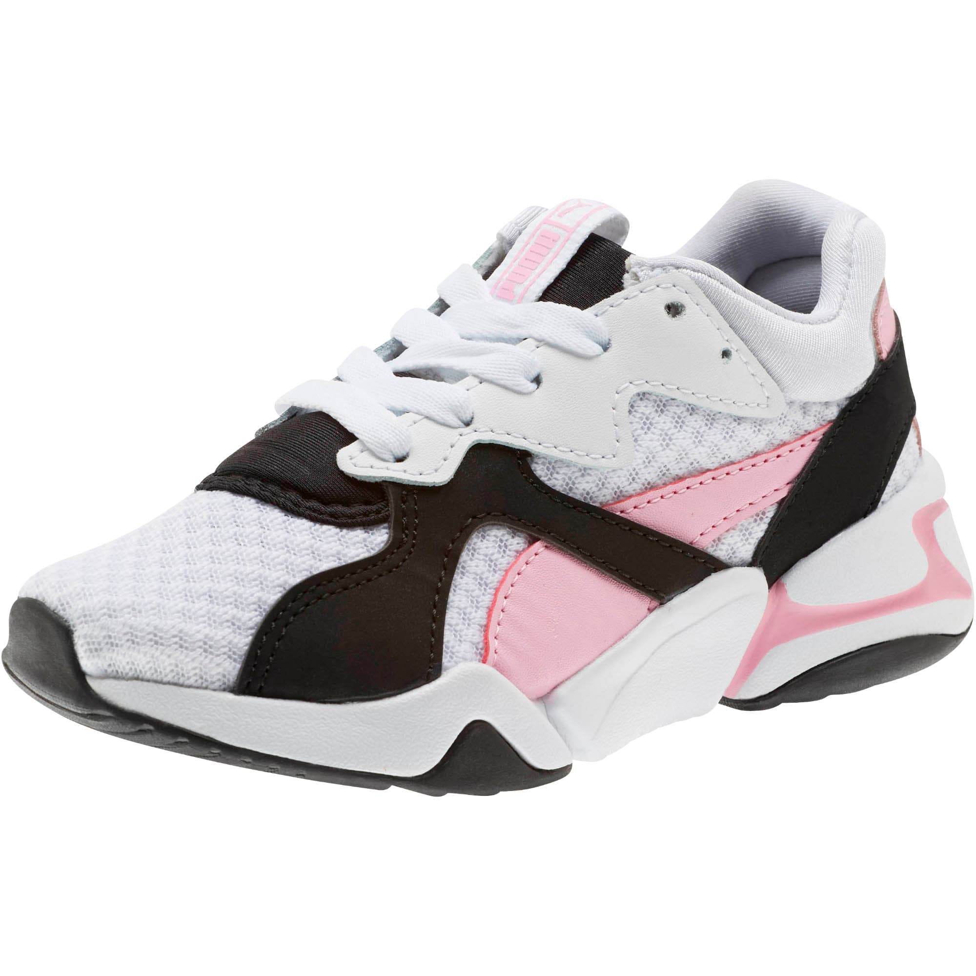 Thumbnail 1 of Nova '90s Bloc Sneakers PS, Puma Black-Puma White, medium