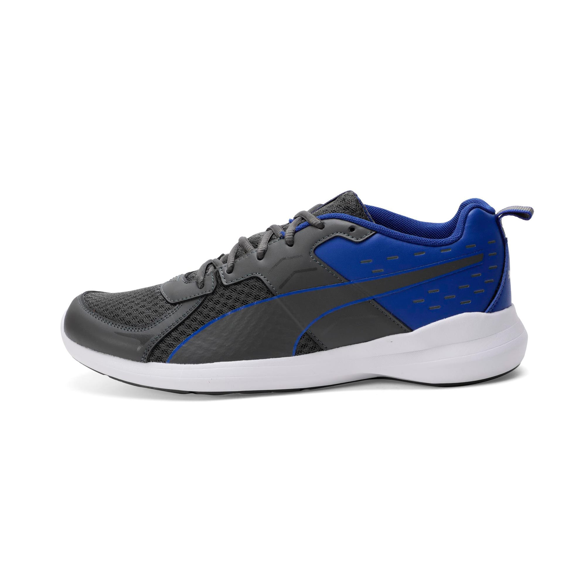 Thumbnail 1 of Pacer X Graphicster IDP Puma Black-Firec, DShadow-Surf The Web-White, medium-IND