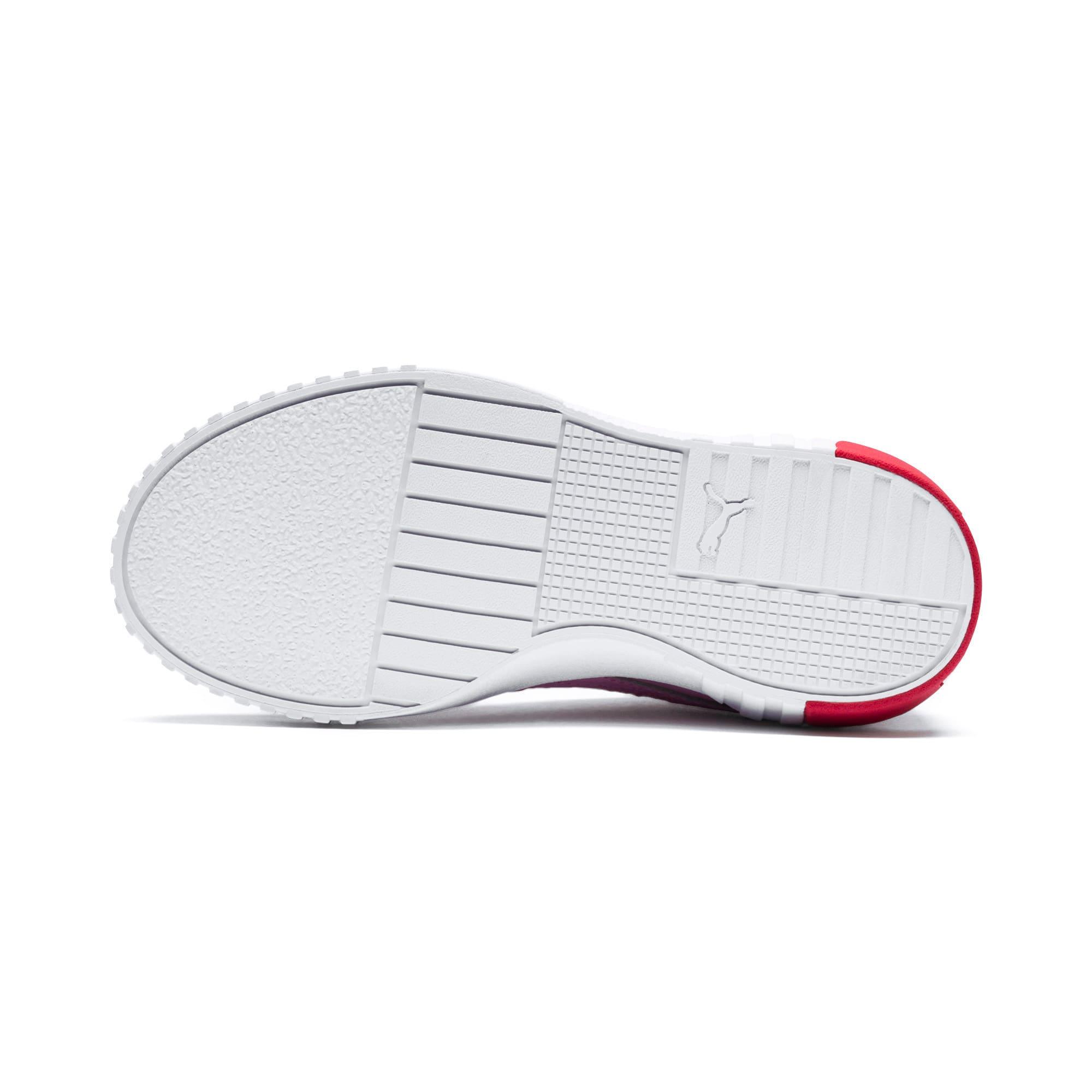 Thumbnail 4 of Cali sneakers voor meisjes, Puma White-Hibiscus, medium