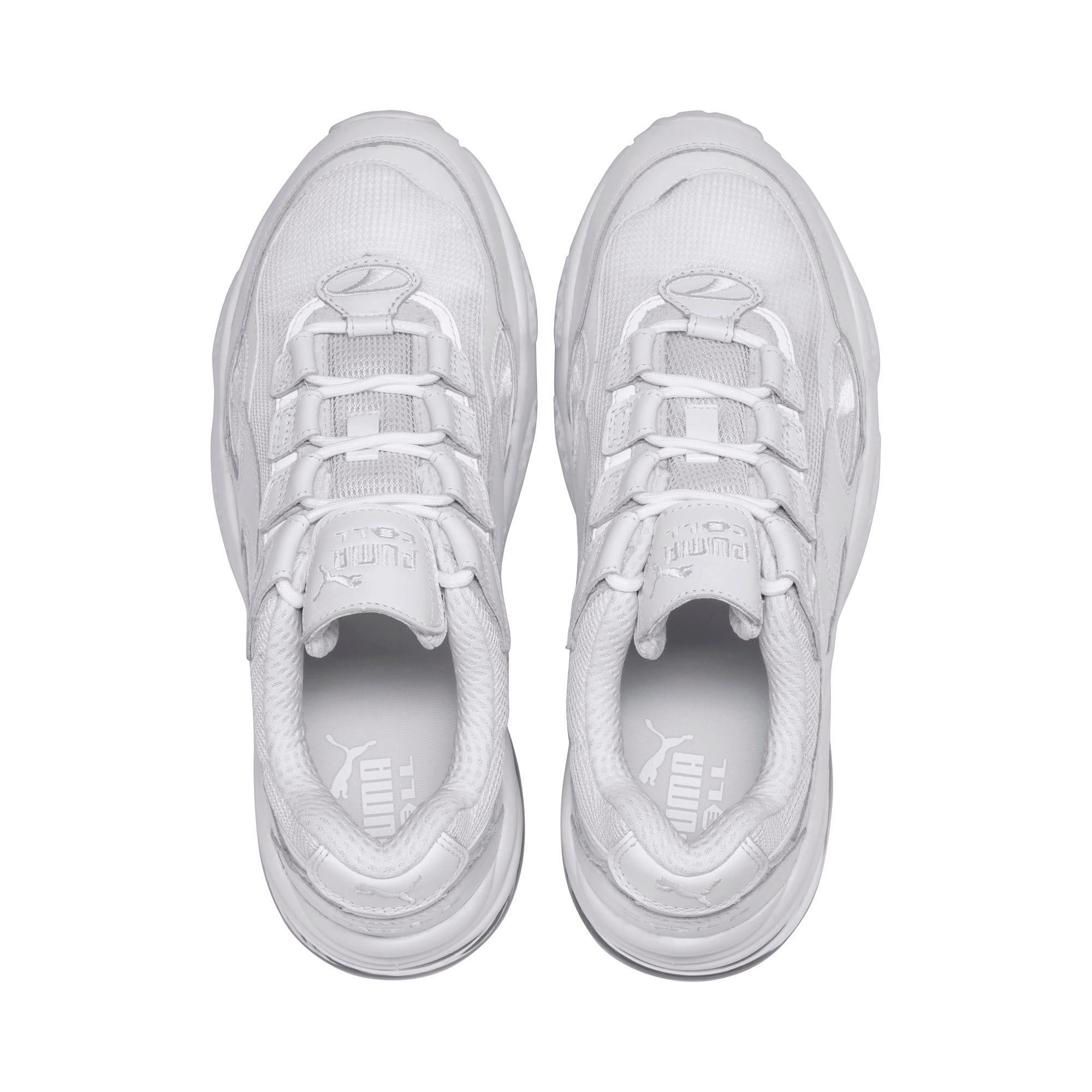 Thumbnail 7 of CELL Venom Reflective Sneakers, Puma White-Puma White, medium