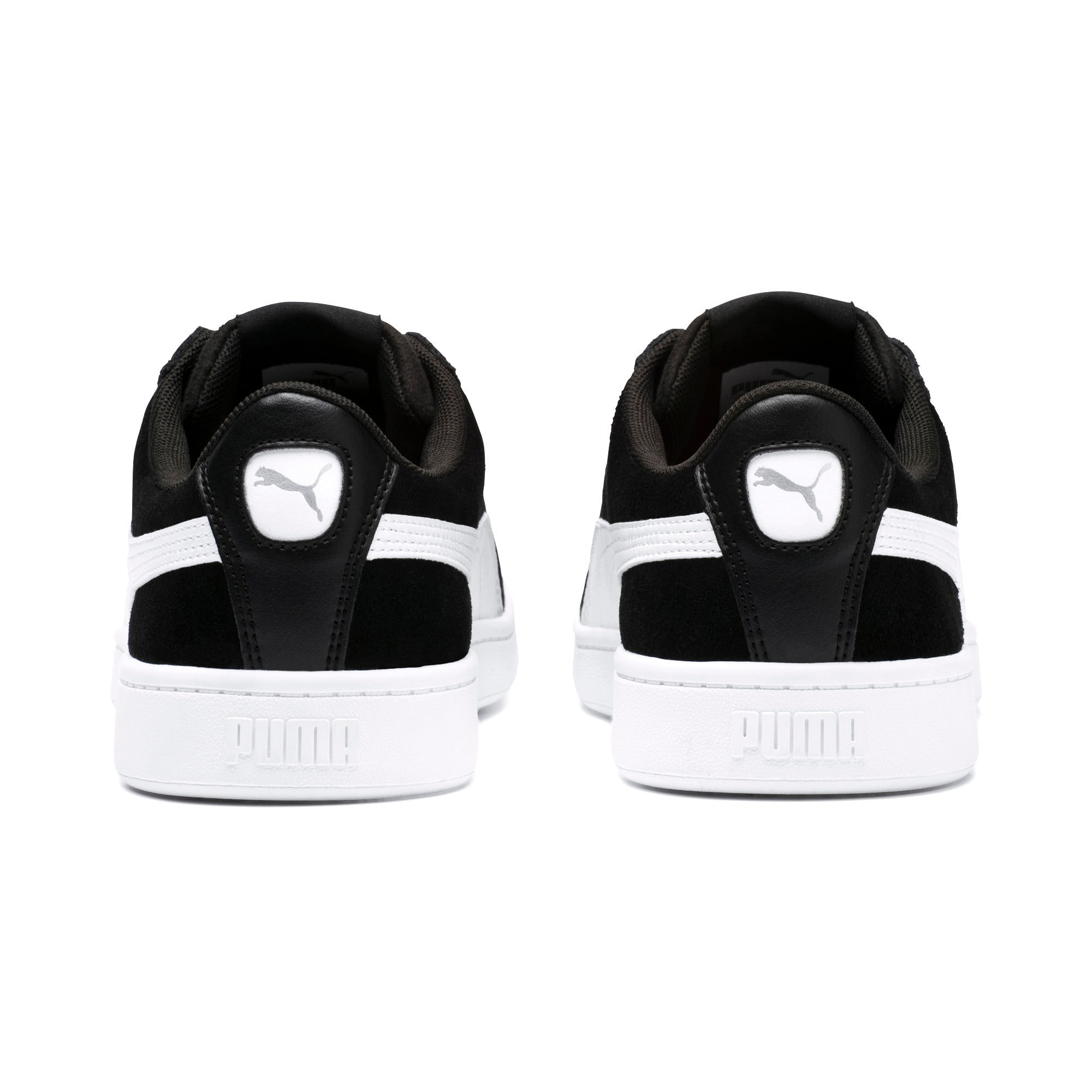 Thumbnail 3 of PUMA Vikky v2 Women's Sneakers, Puma Black-Puma White-Silver, medium